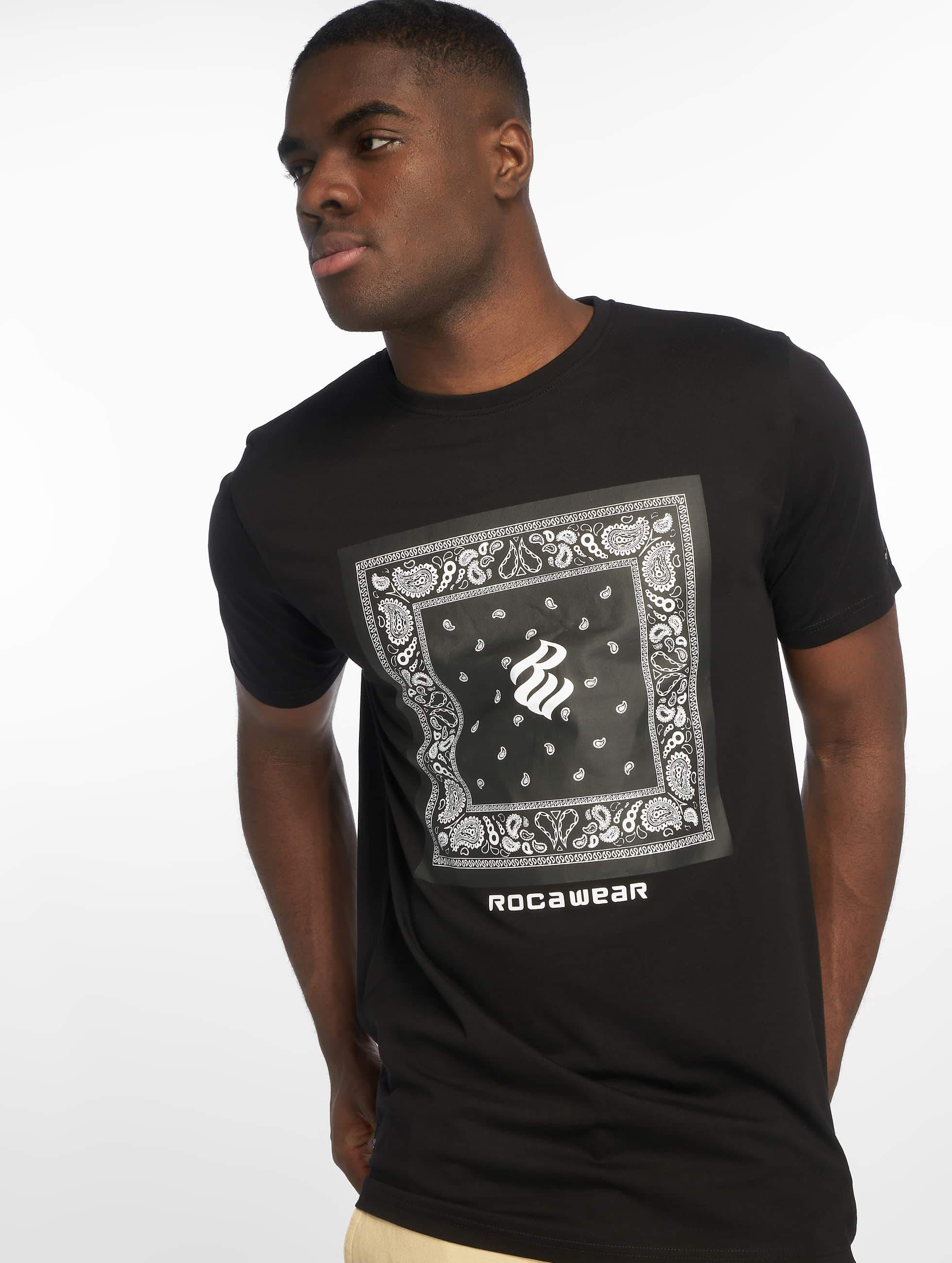 Rocawear / T-Shirt Bandana in black M