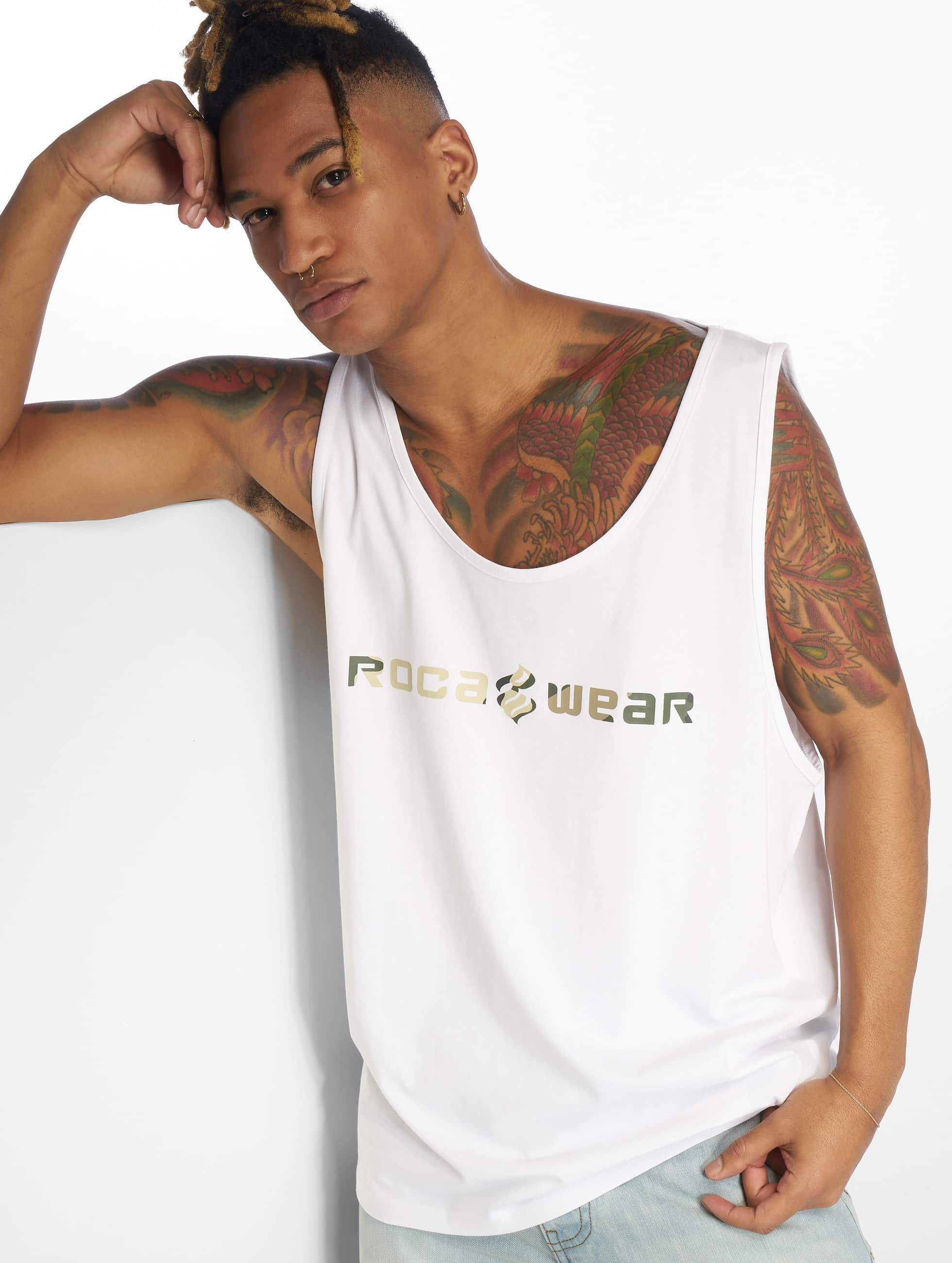 Rocawear / Tank Tops Camo in white XL