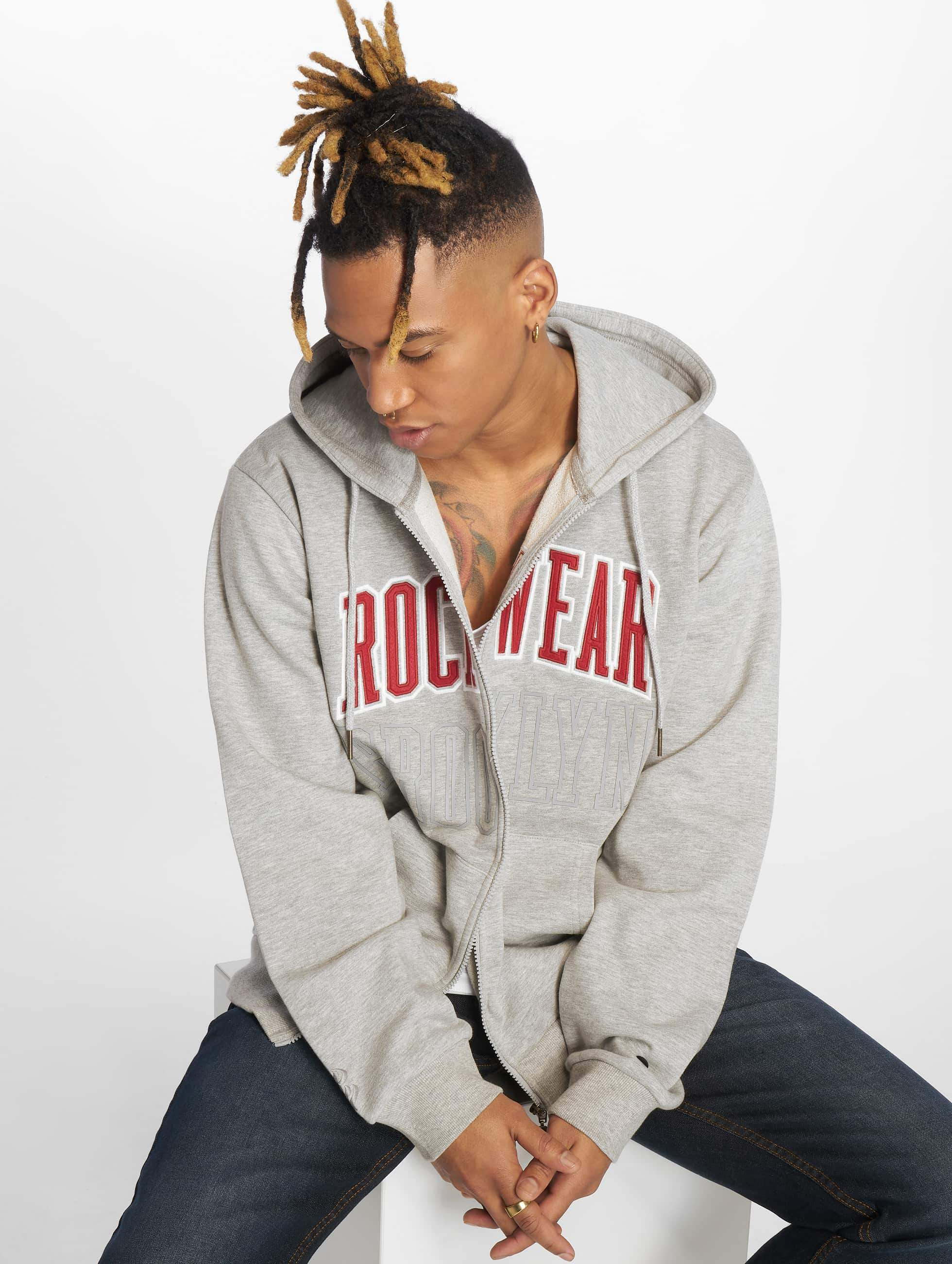 Rocawear / Zip Hoodie Brooklyn in grey M
