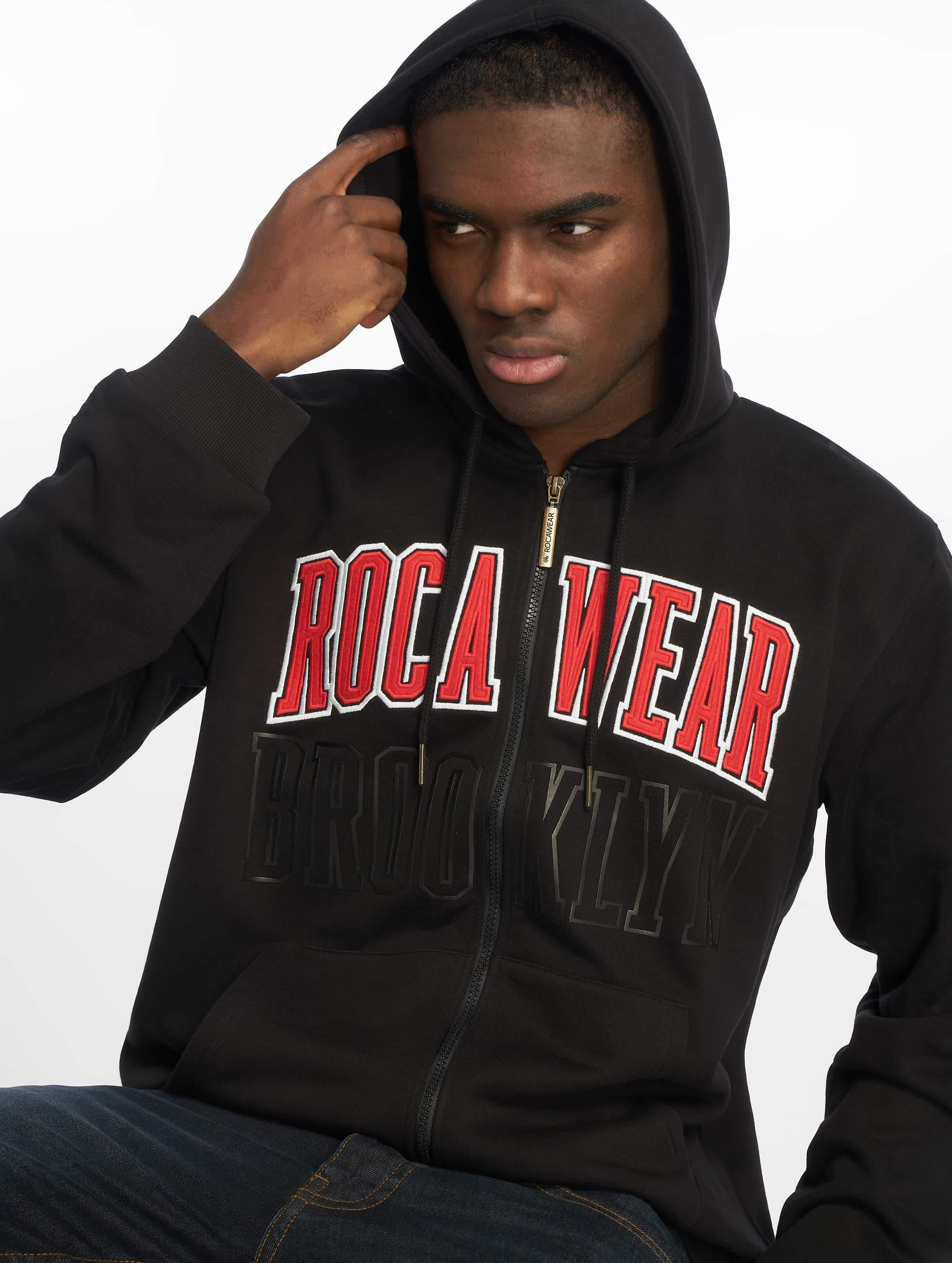 Rocawear / Zip Hoodie Brooklyn in black XL