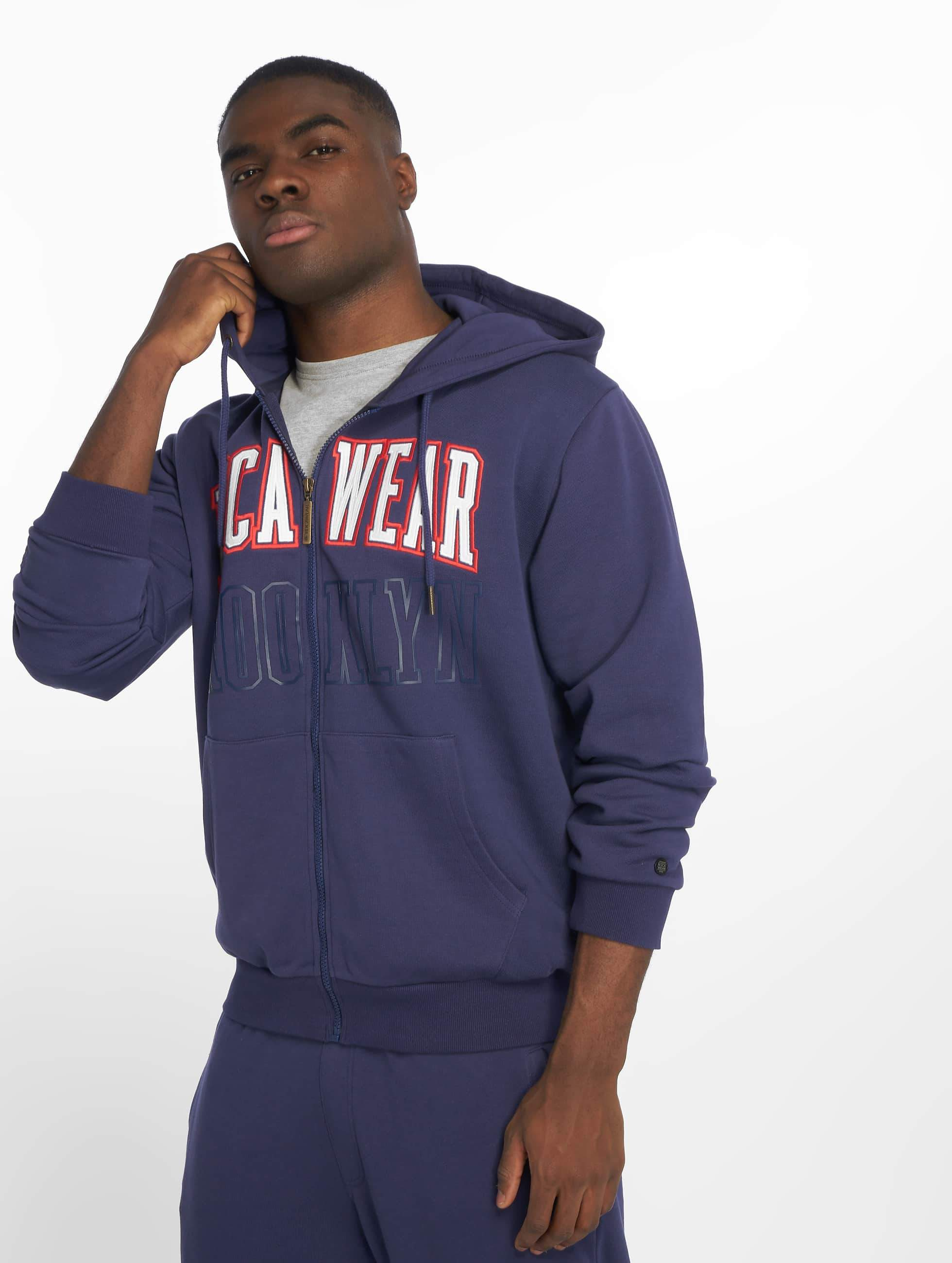 Rocawear / Zip Hoodie Brooklyn in blue XL