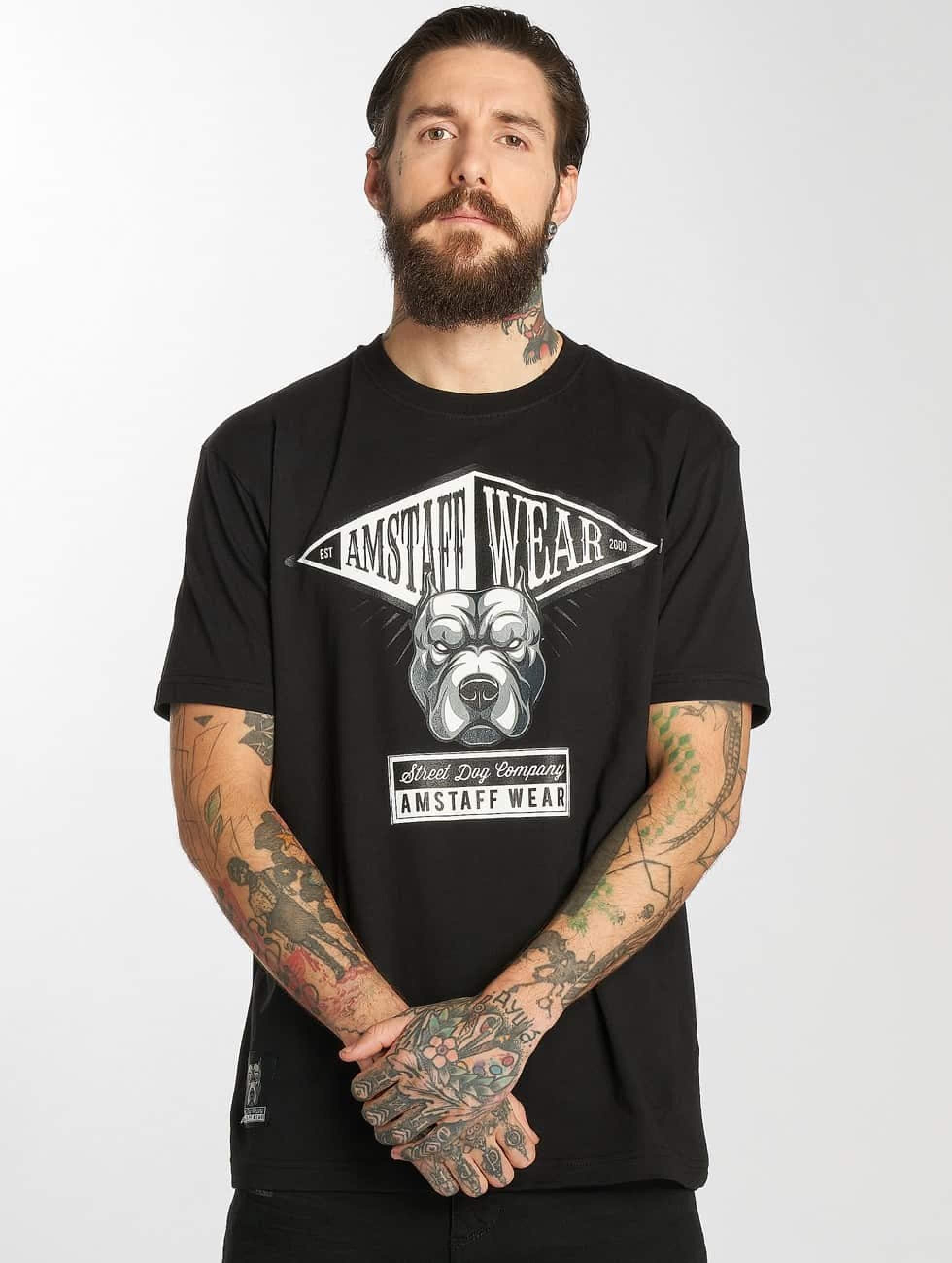 Amstaff | Oron  noir Homme T-Shirt