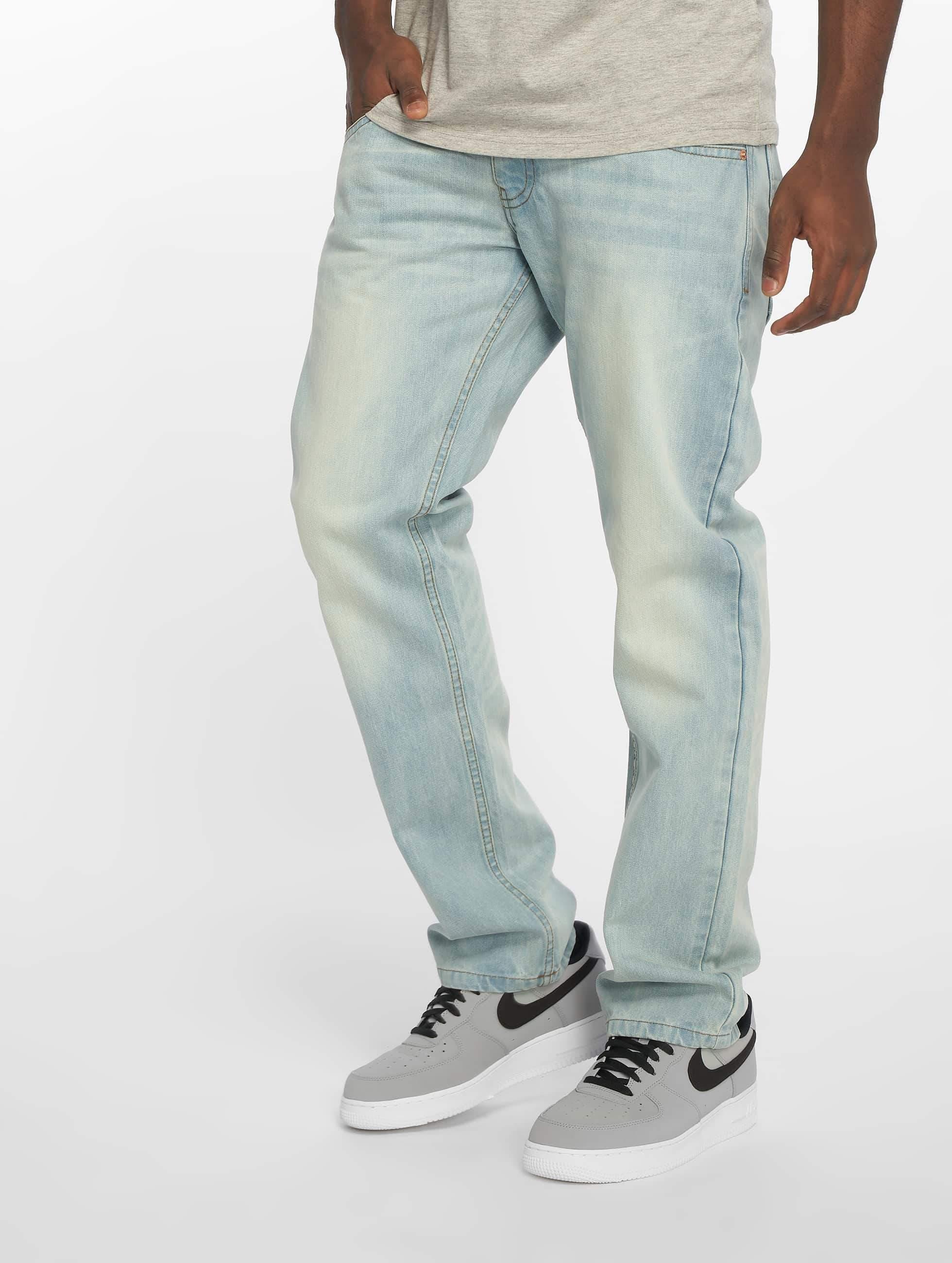 Rocawear / Straight Fit Jeans MON Tony in blue W 44 L 34