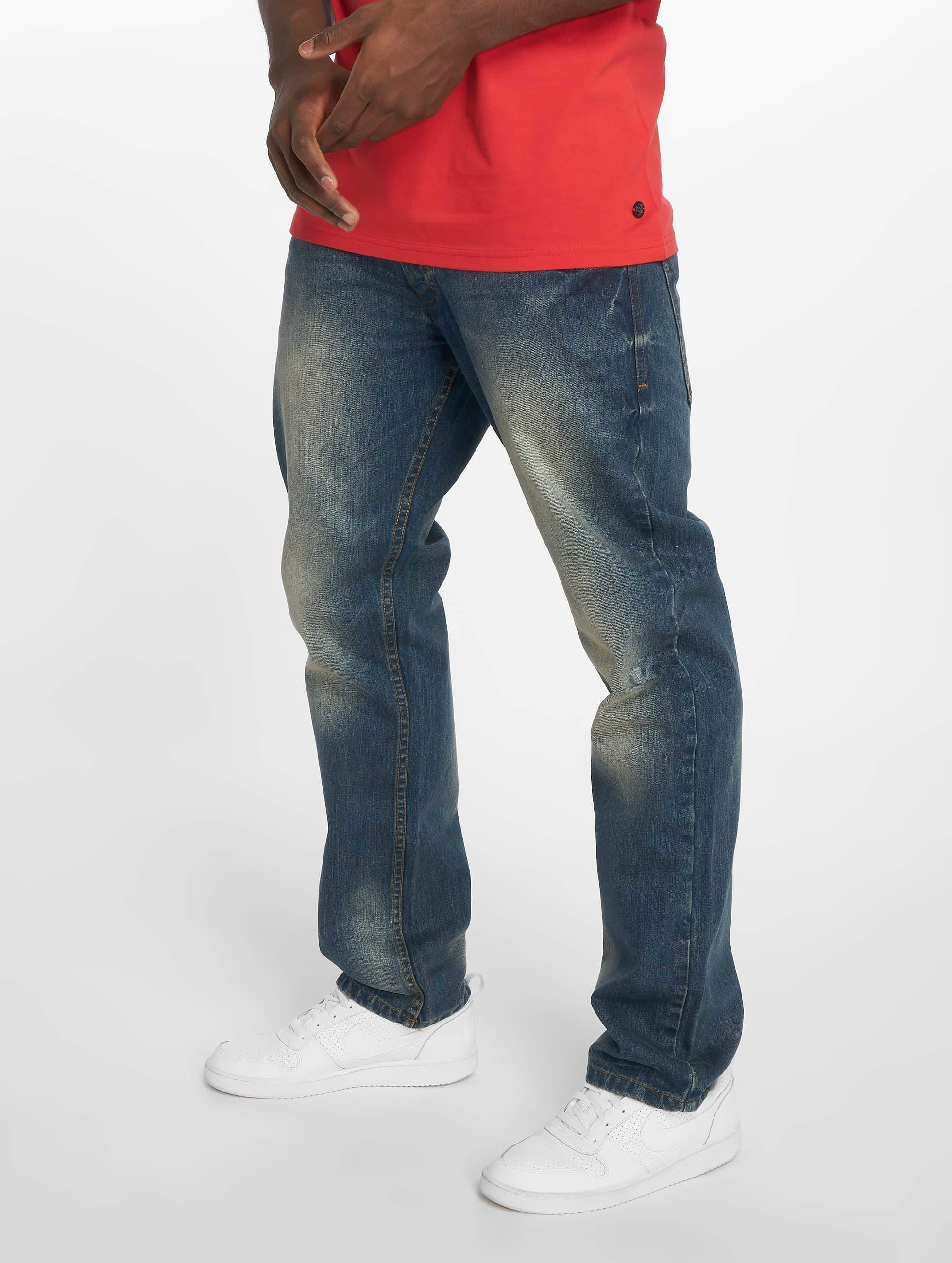 Rocawear / Straight Fit Jeans MON Tony in blue W 33 L 34