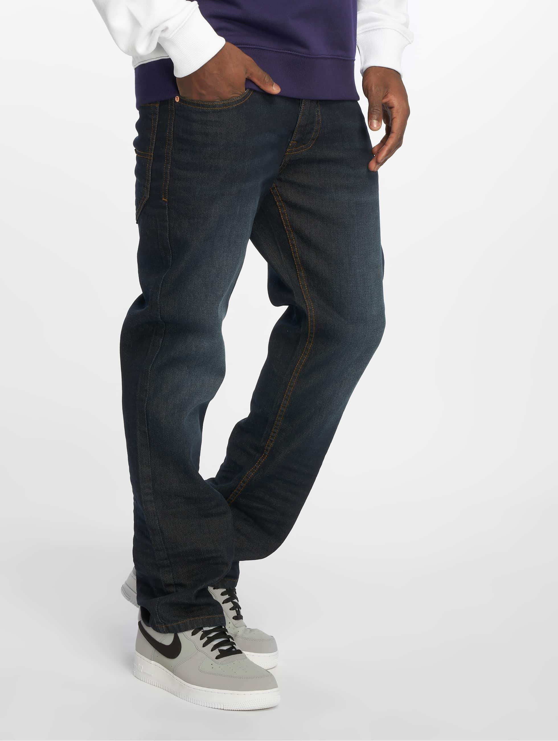 Rocawear / Straight Fit Jeans TUE Relax Fit in blue W 33 L 34