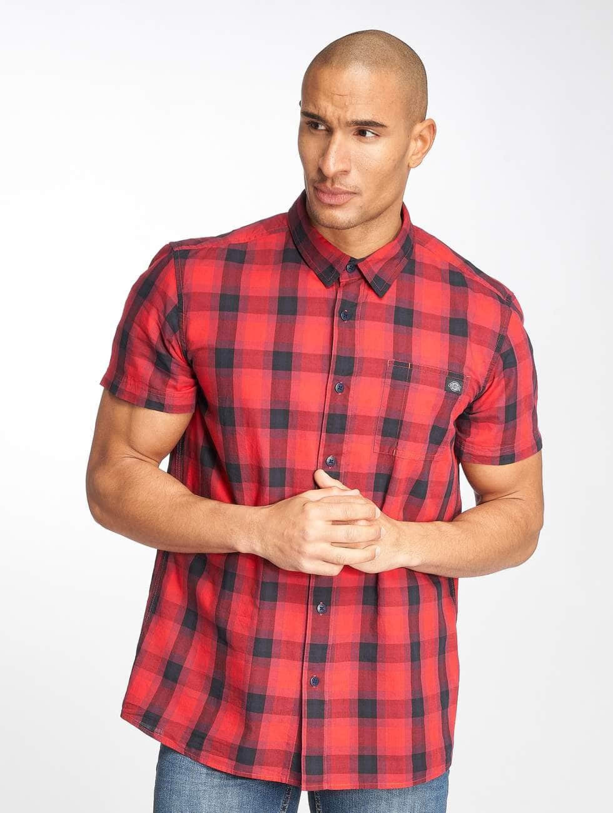Dickies Männer Hemd Bryson in rot