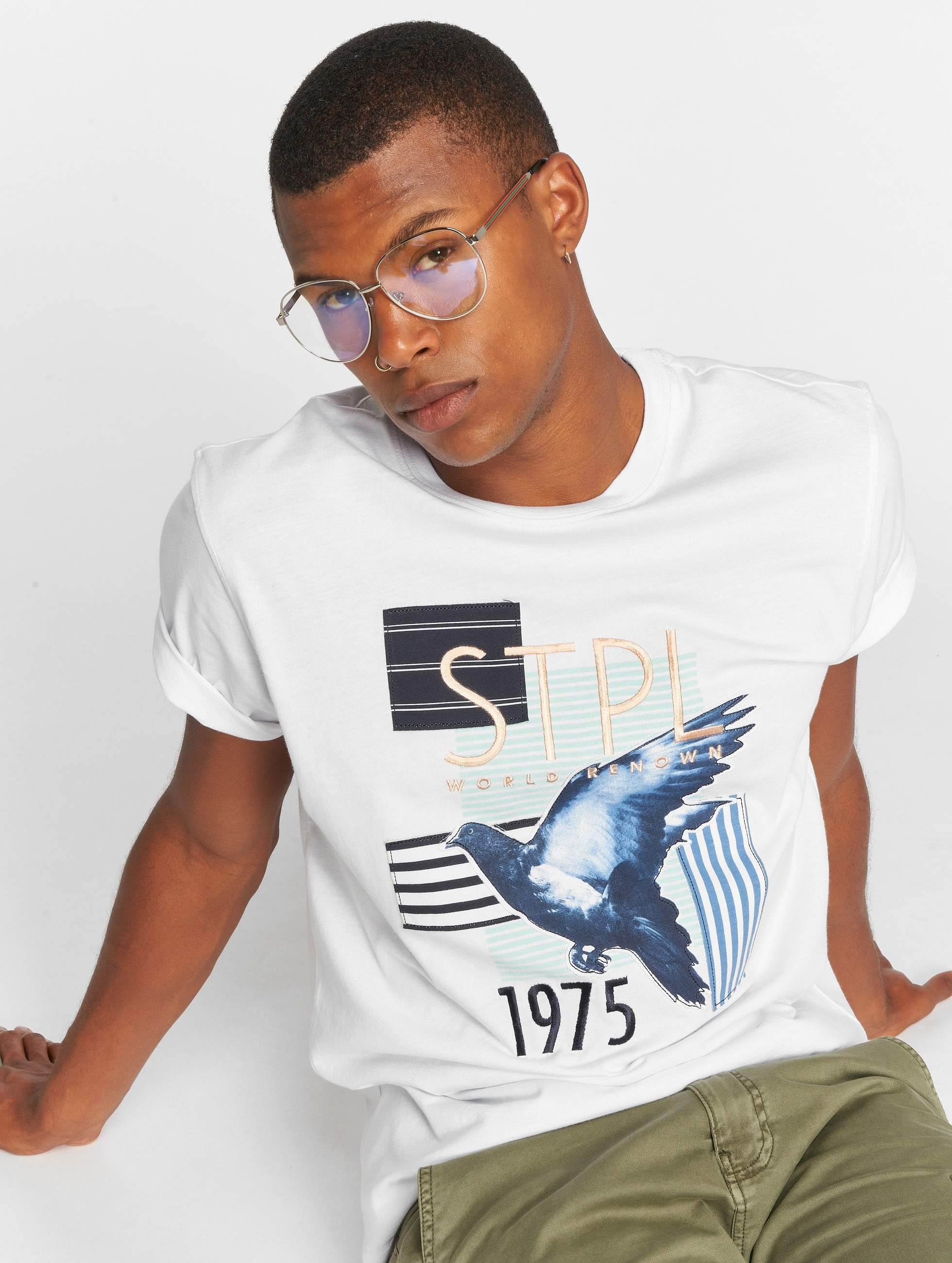 Staple Pigeon   Sport Graphic blanc Homme T-Shirt