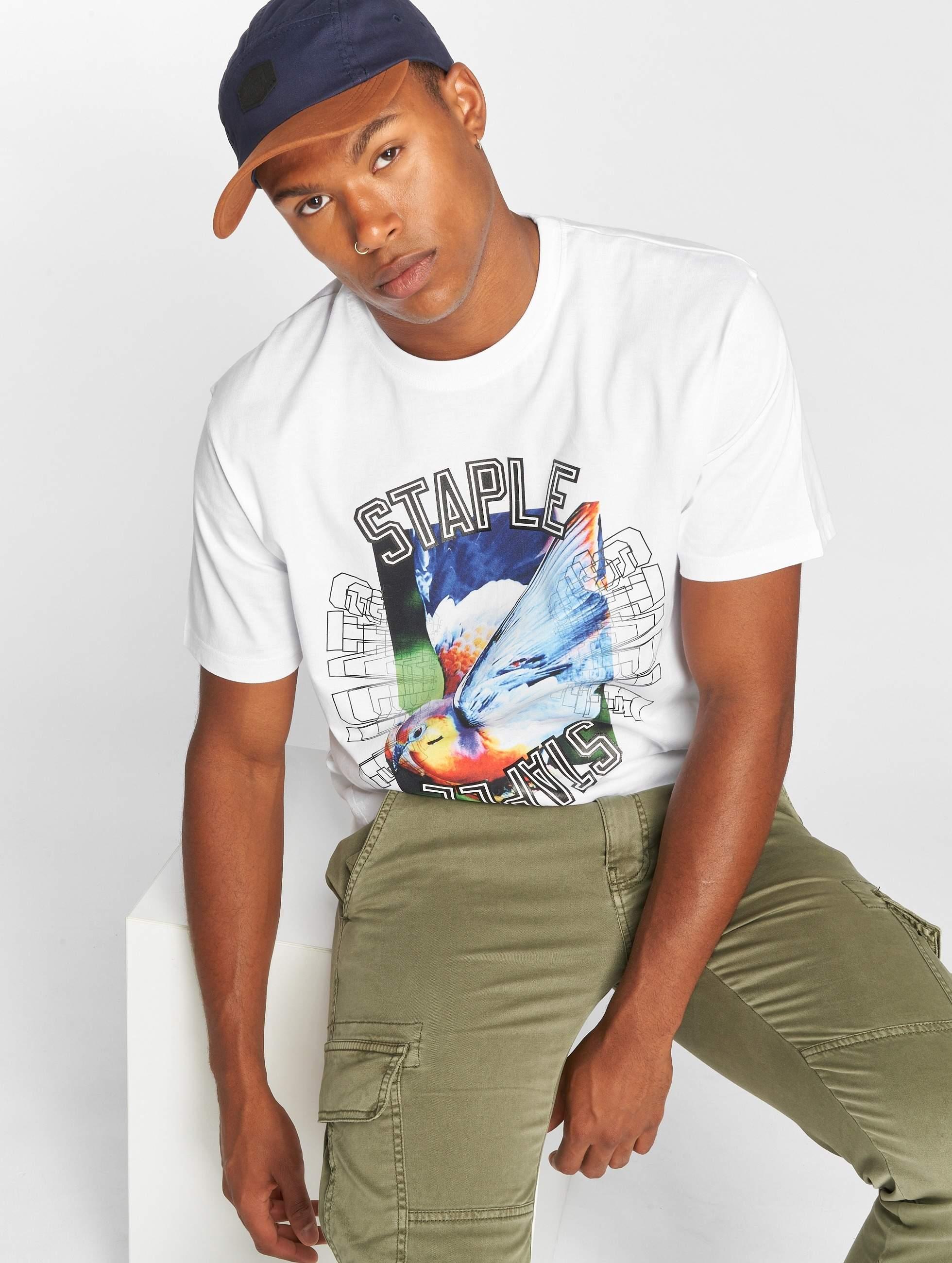 Staple Pigeon   Layup Pigeon blanc Homme T-Shirt