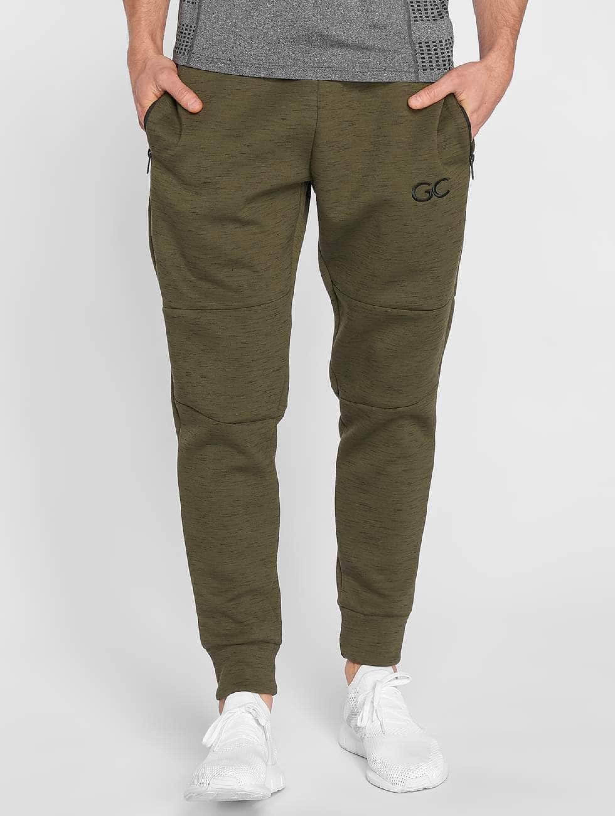 GymCodes | Athletic-Fit olive Homme Pantalons de jogging