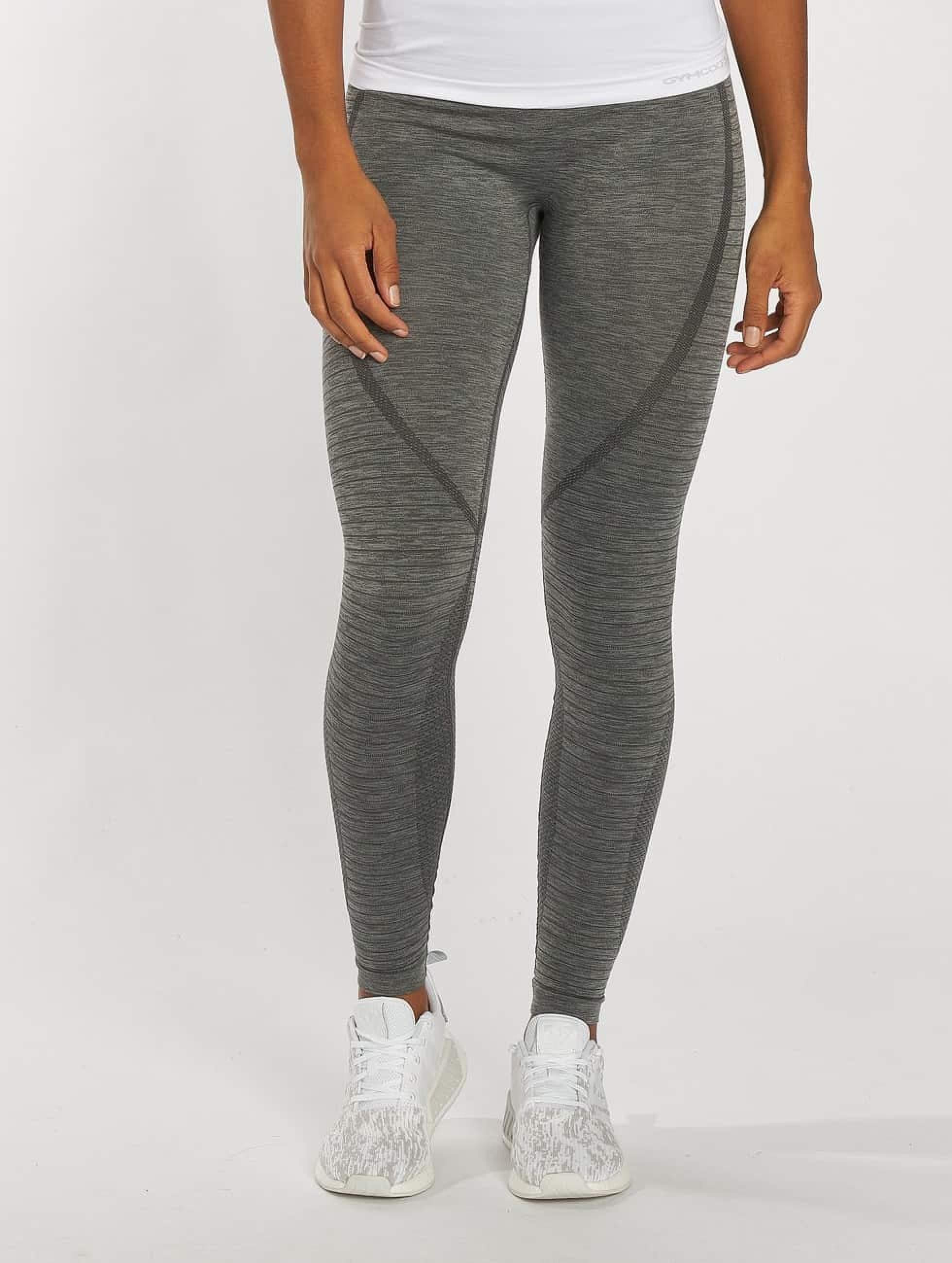 GymCodes | Flex High-Waist  gris Femme Legging