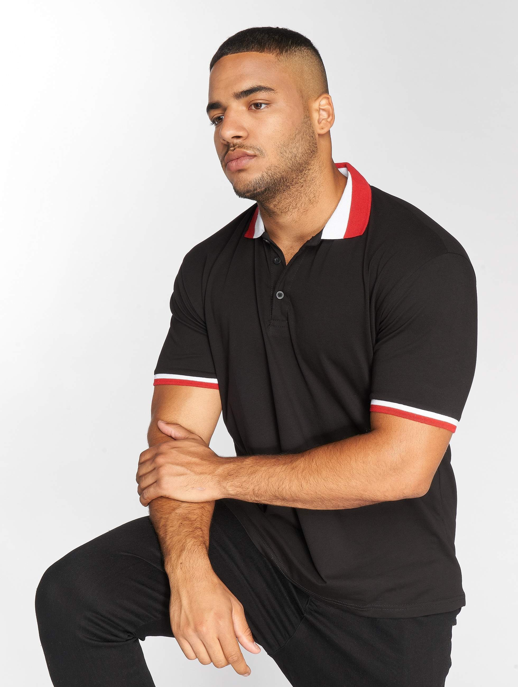 DEF / Poloshirt Aby in black S