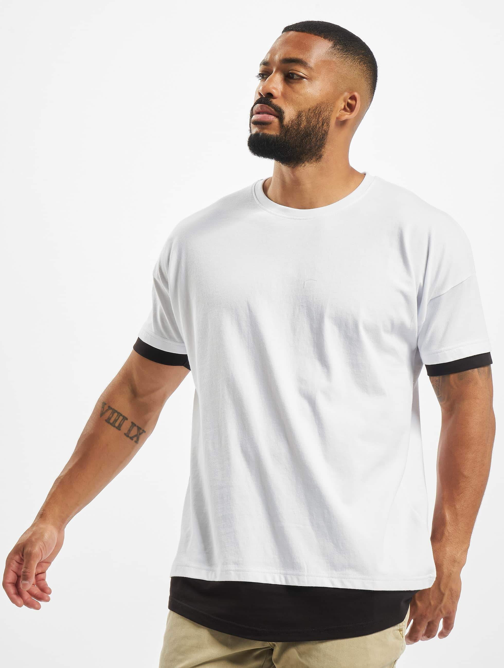 DEF / T-Shirt Tyle in white M