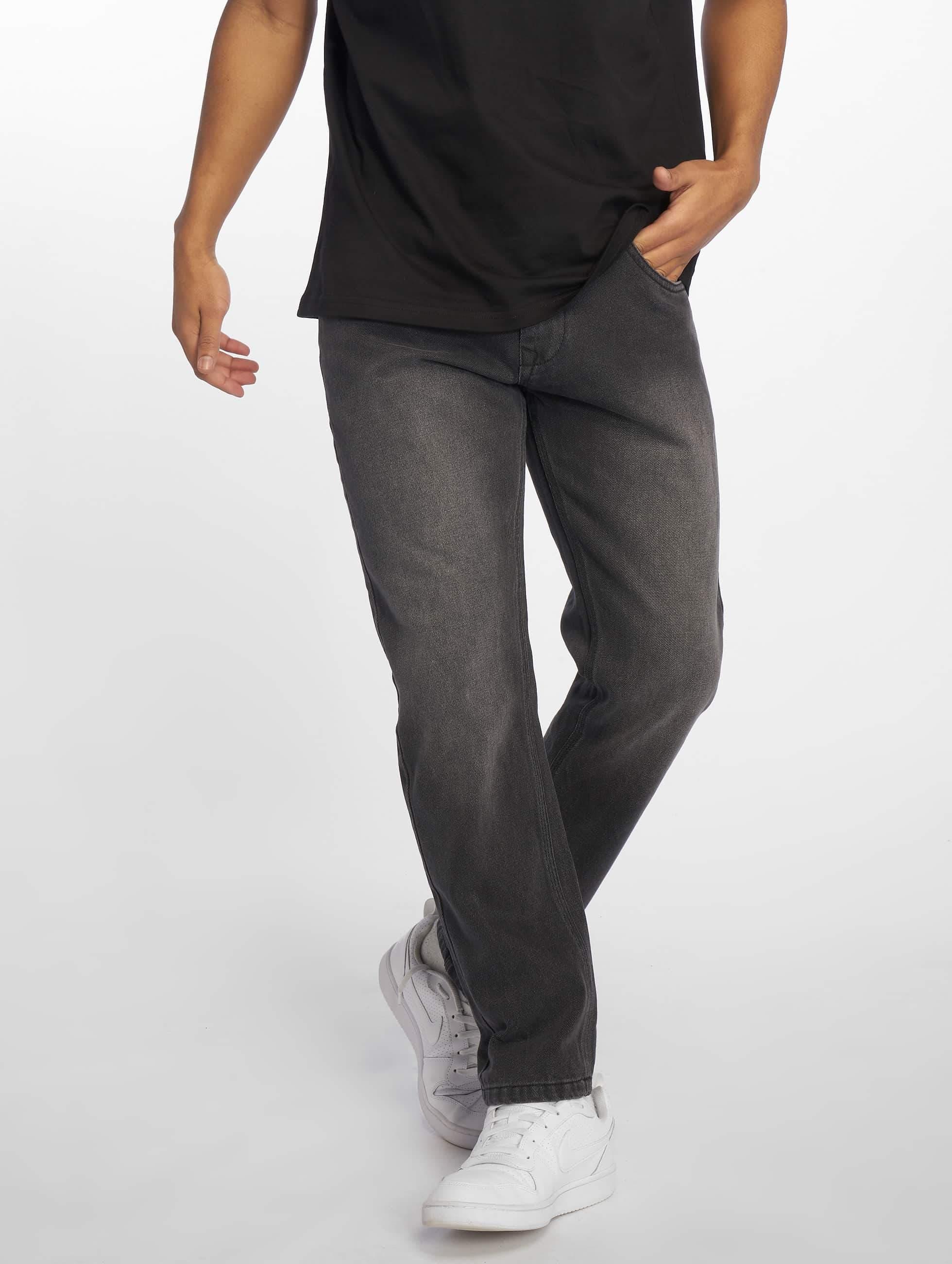 Ecko Unltd. / Straight Fit Jeans Mission Rd in black W 38 L 34