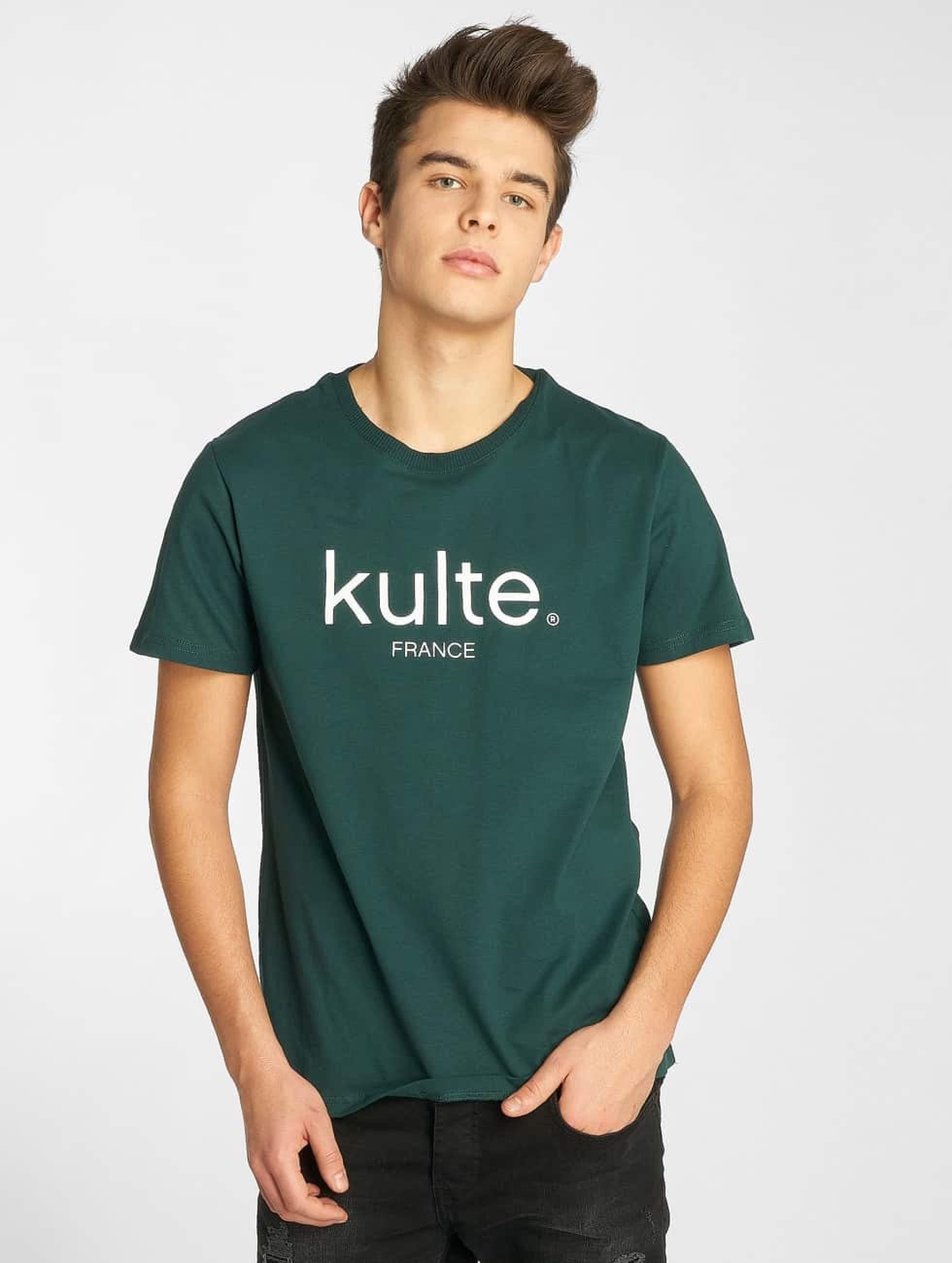 Kulte   Corpo vert Homme T-Shirt