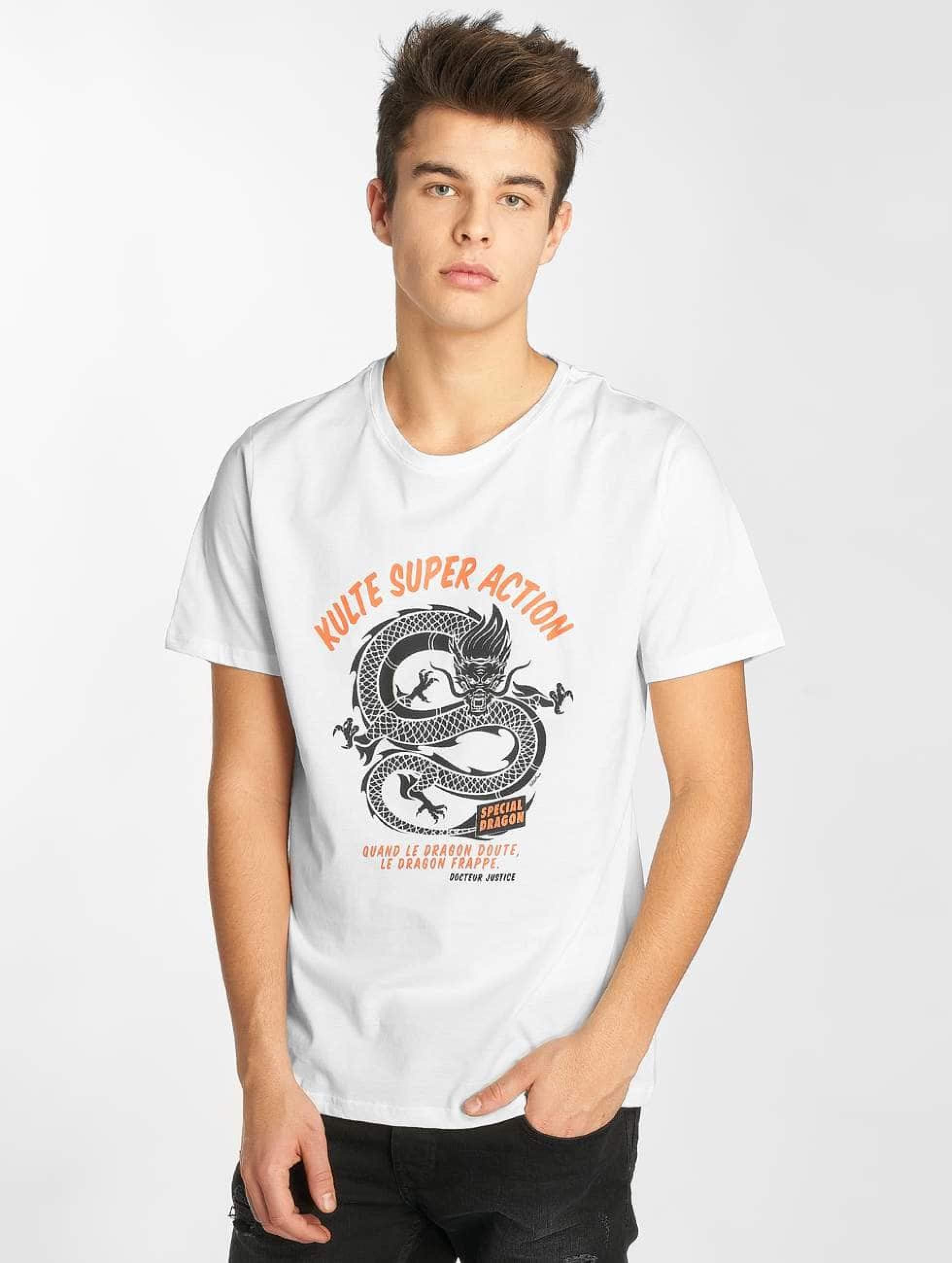 Kulte   Docteur Justice  blanc Homme T-Shirt