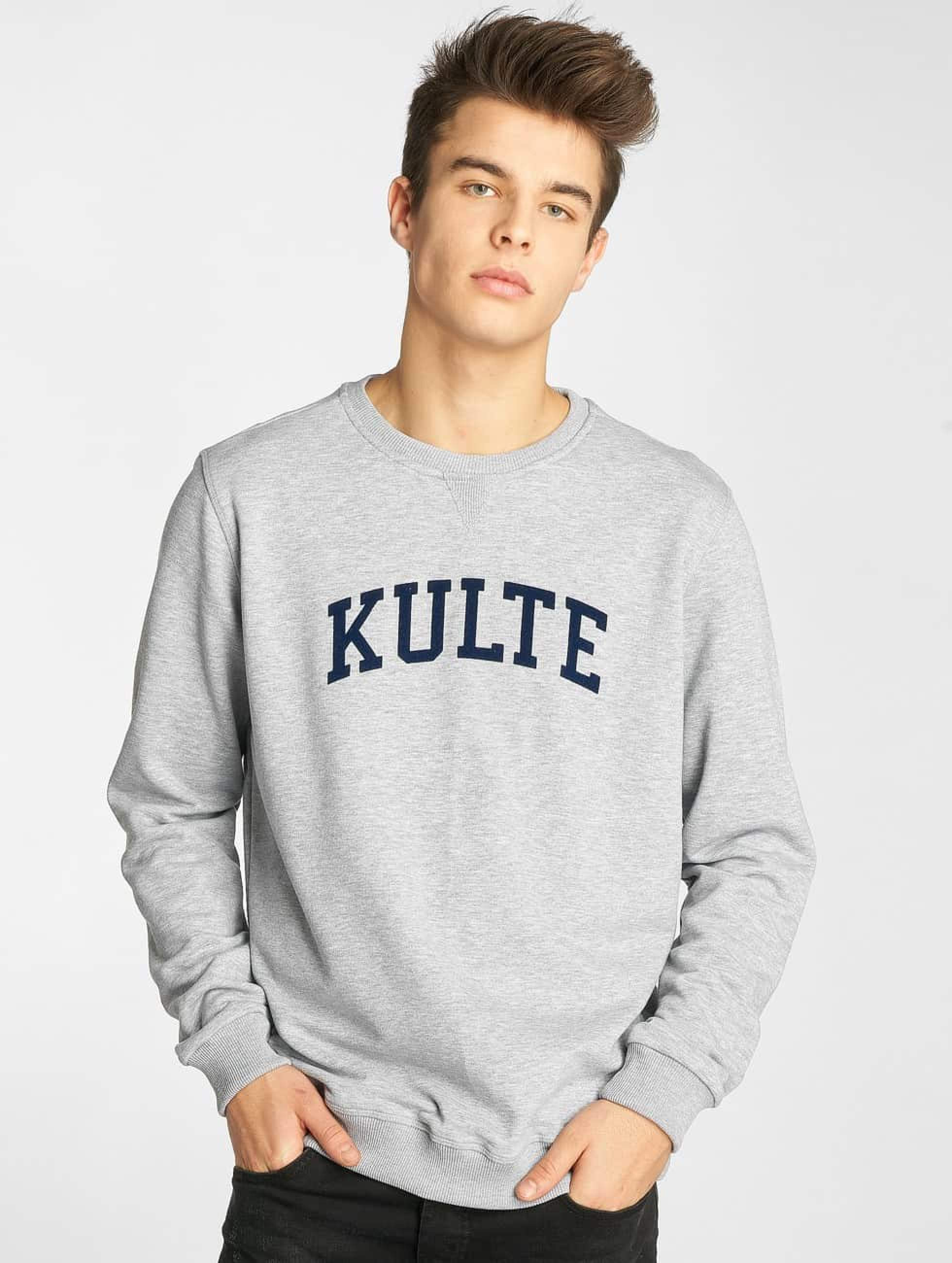 Kulte   Corpo College gris Homme Sweat & Pull