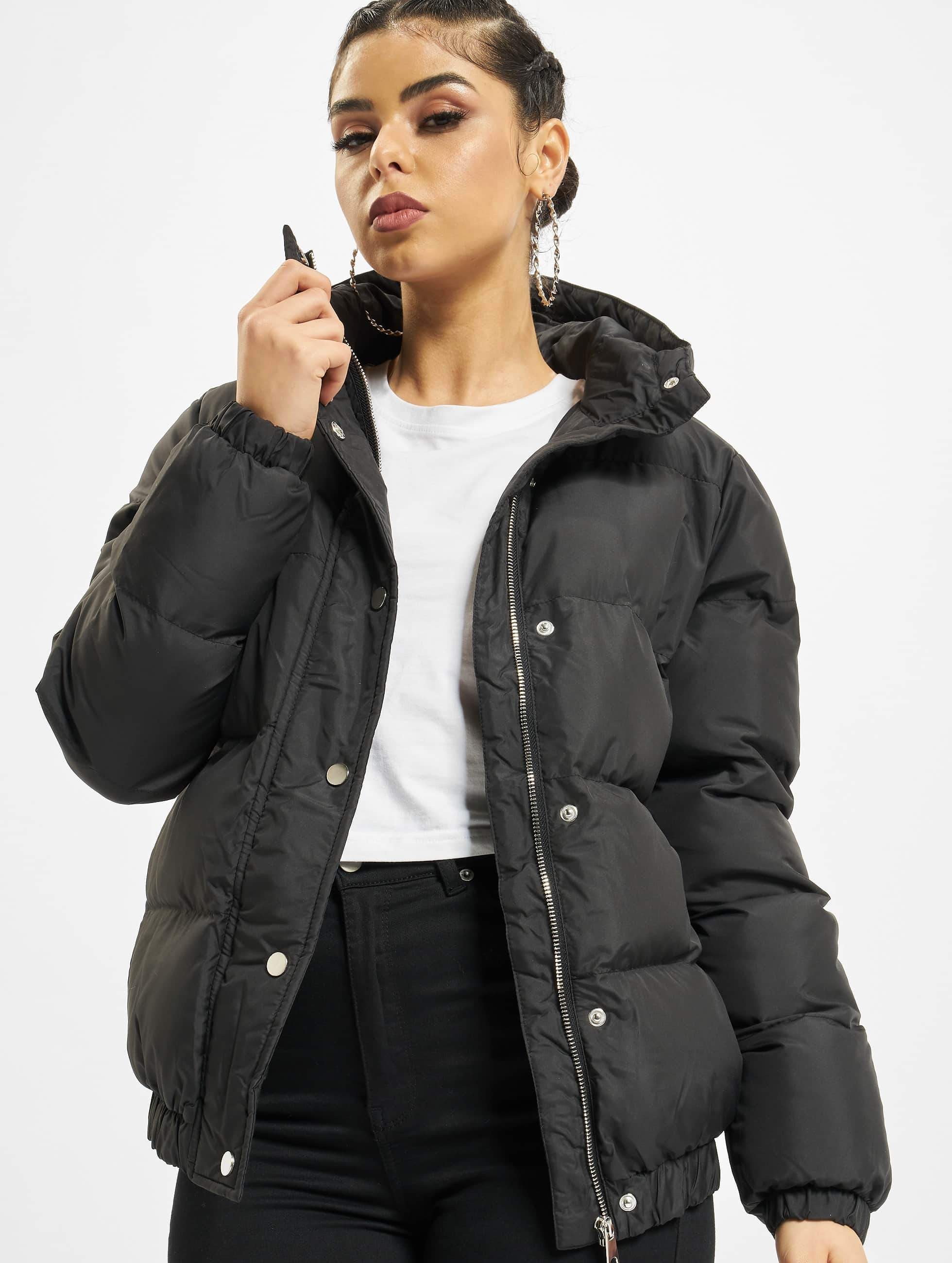 DEF / Winter Jacket Bubble in black XS