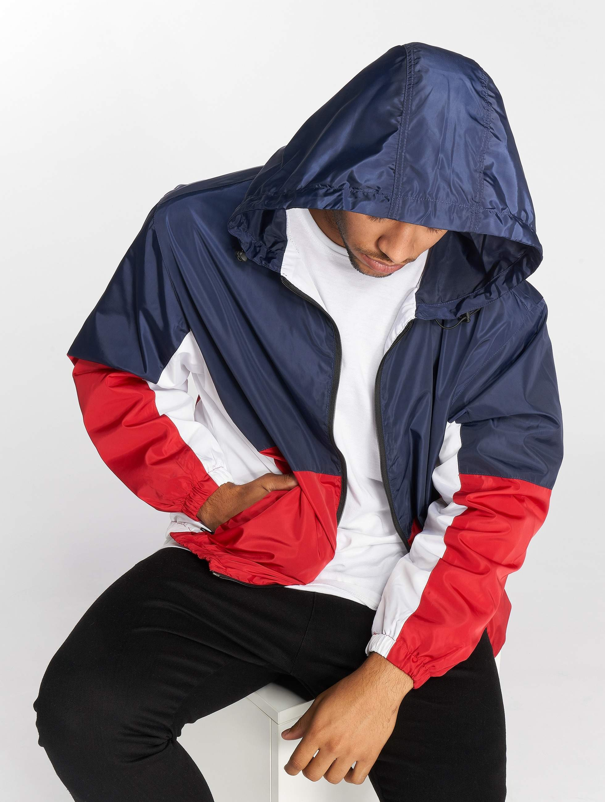DEF / Lightweight Jacket Lod in blue S