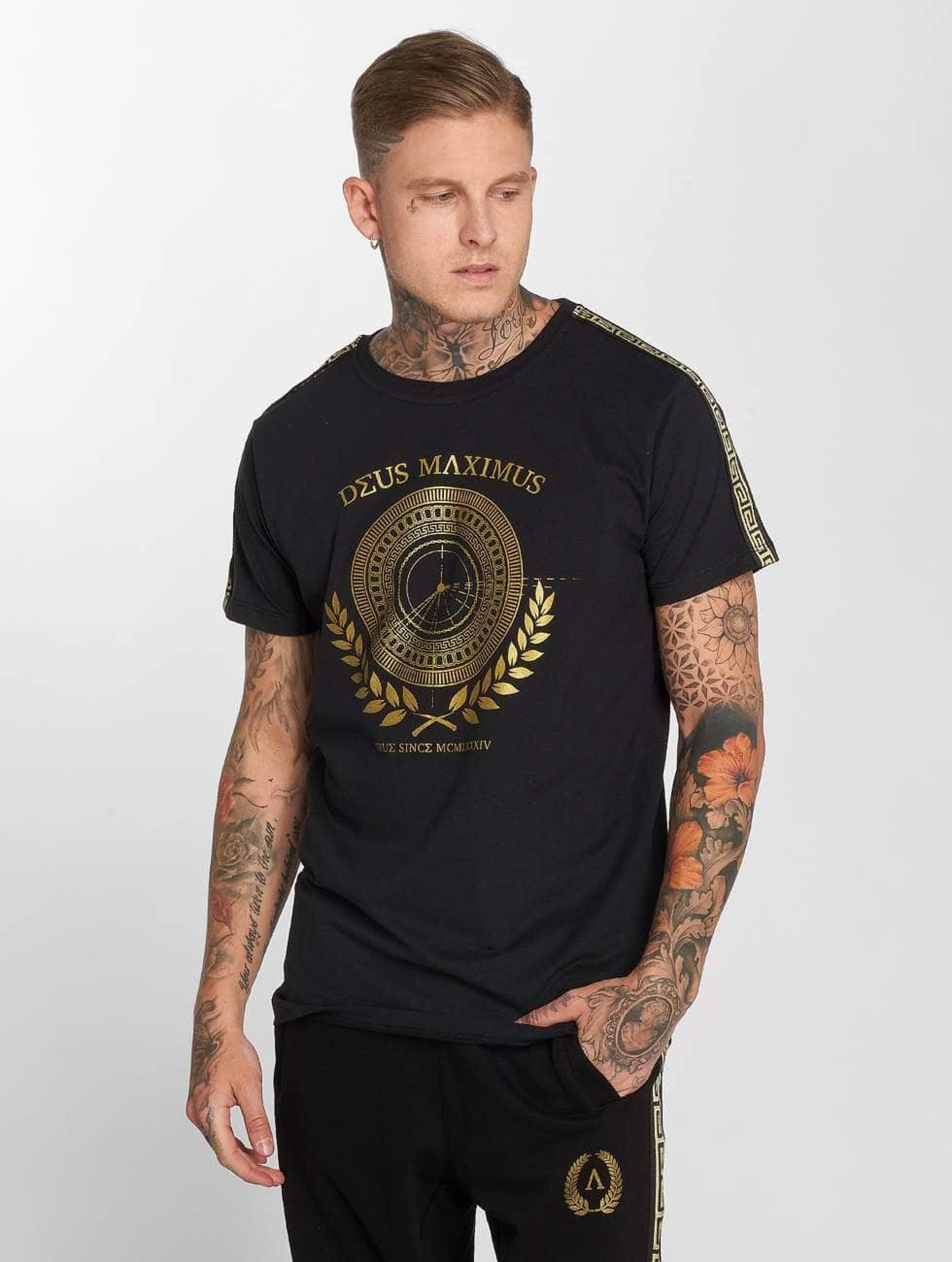 Deus Maximus / T-Shirt Odysseus in black XL