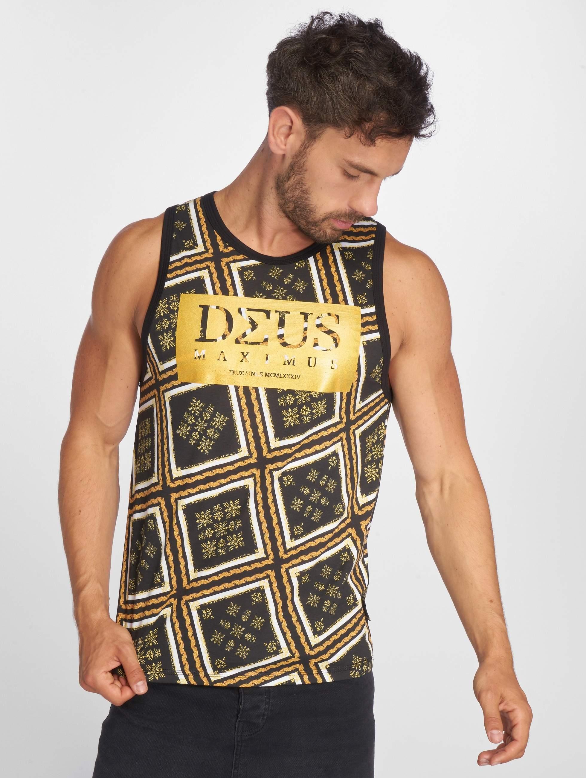 Deus Maximus / Tank Tops Gianni in black XL