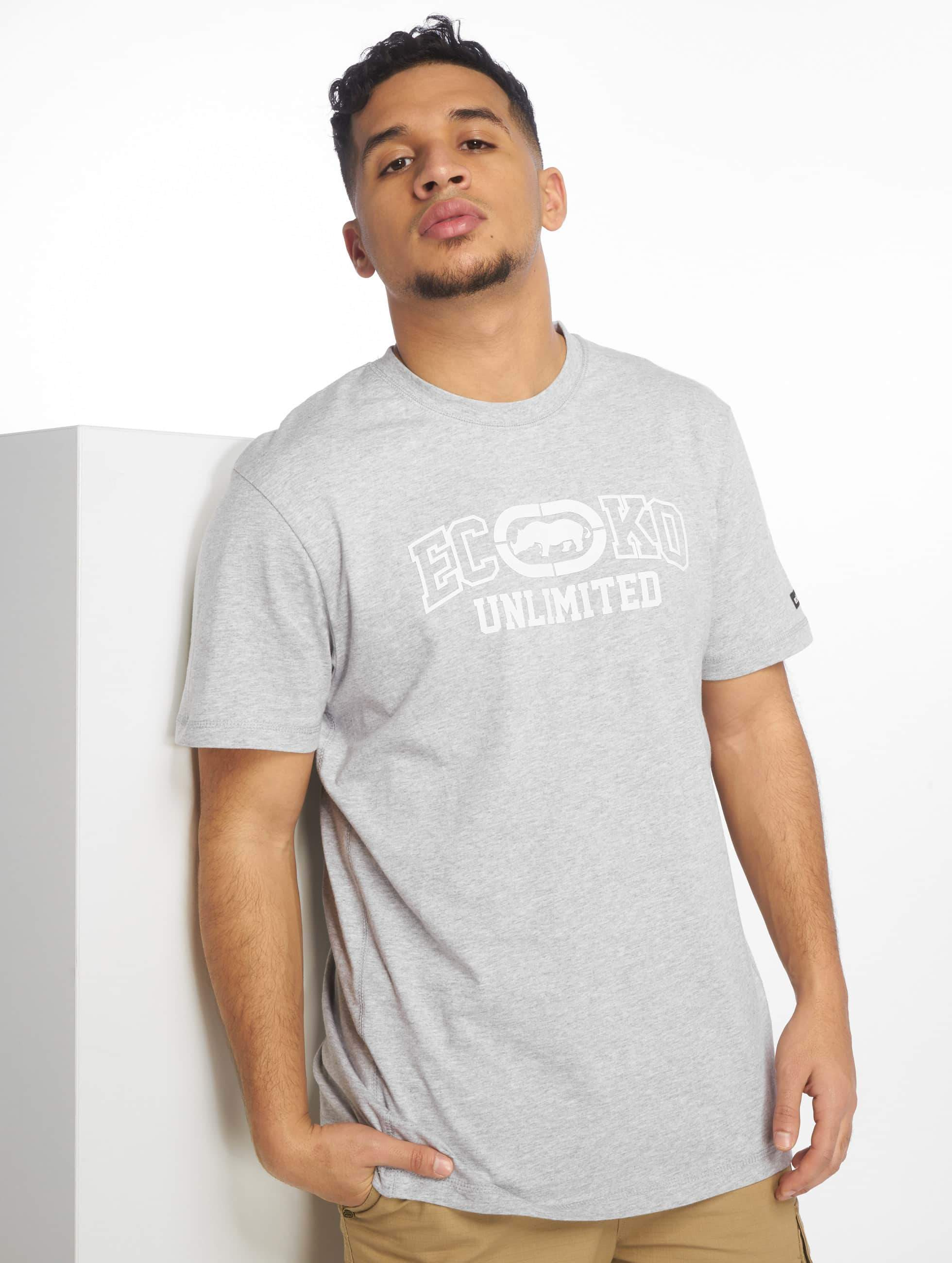 Ecko Unltd. / T-Shirt Oil City in grey 3XL