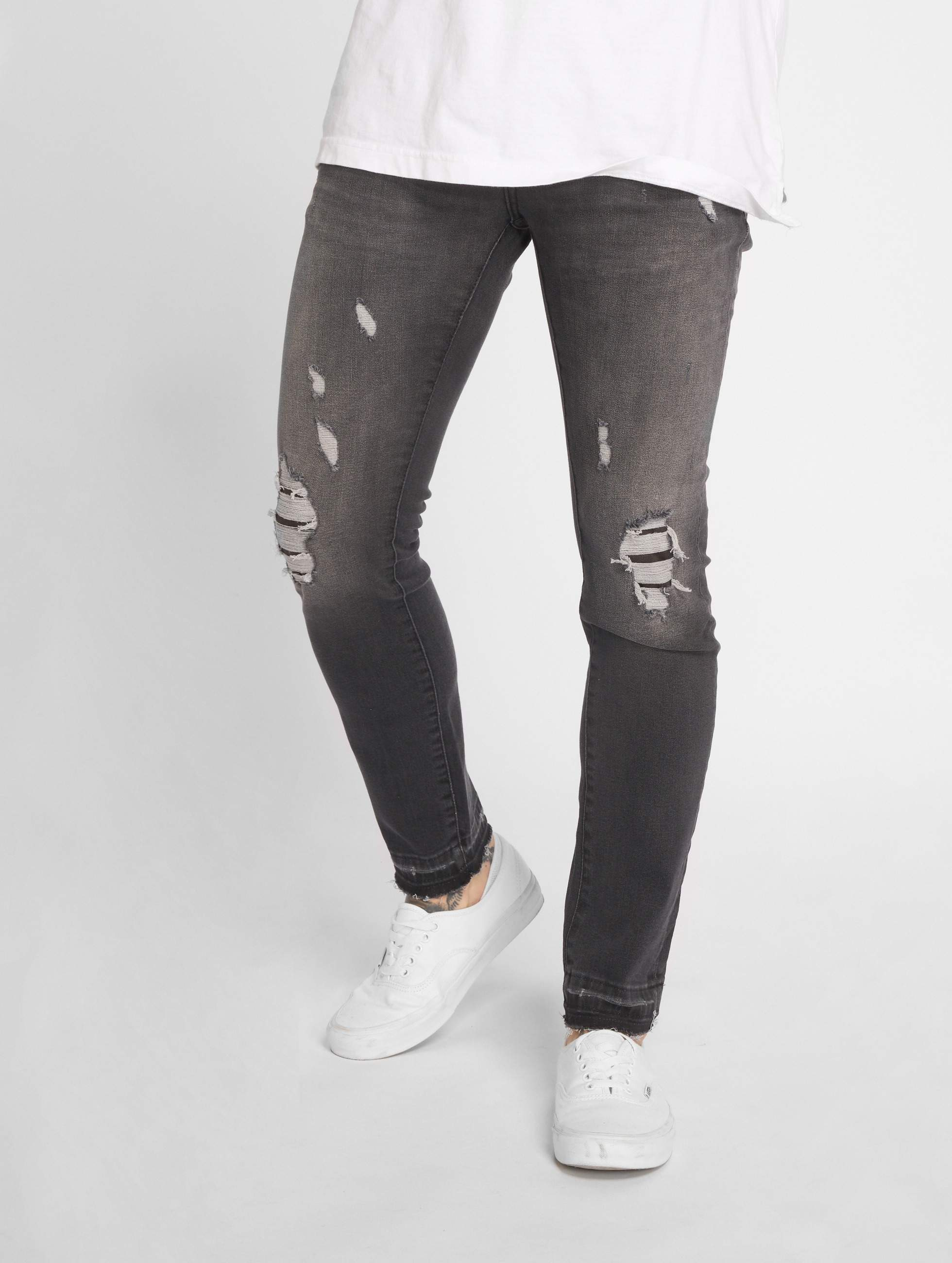 GRJ Denim   Fashion gris Homme Jean slim