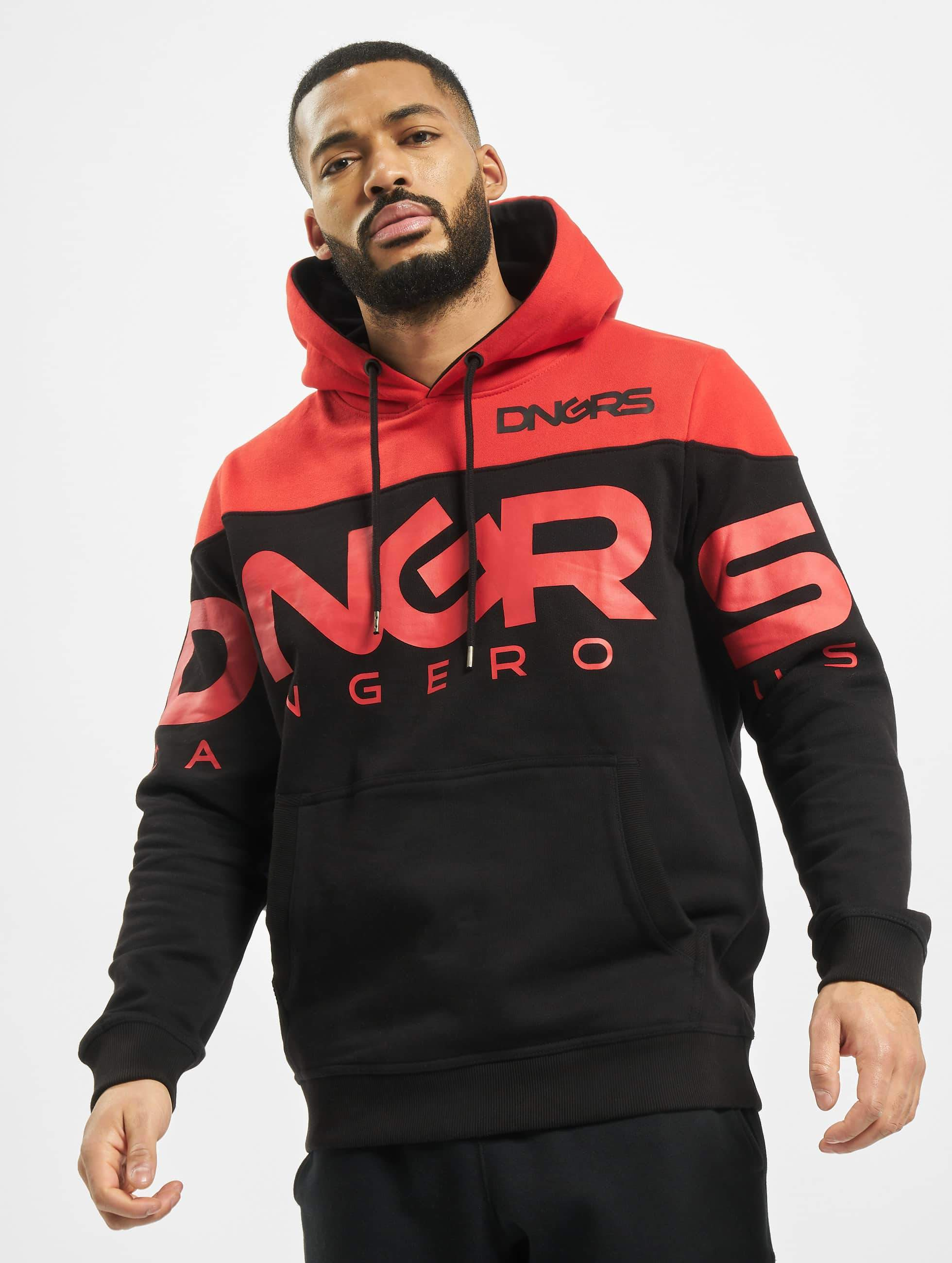 Dangerous DNGRS / Hoodie Label in black L