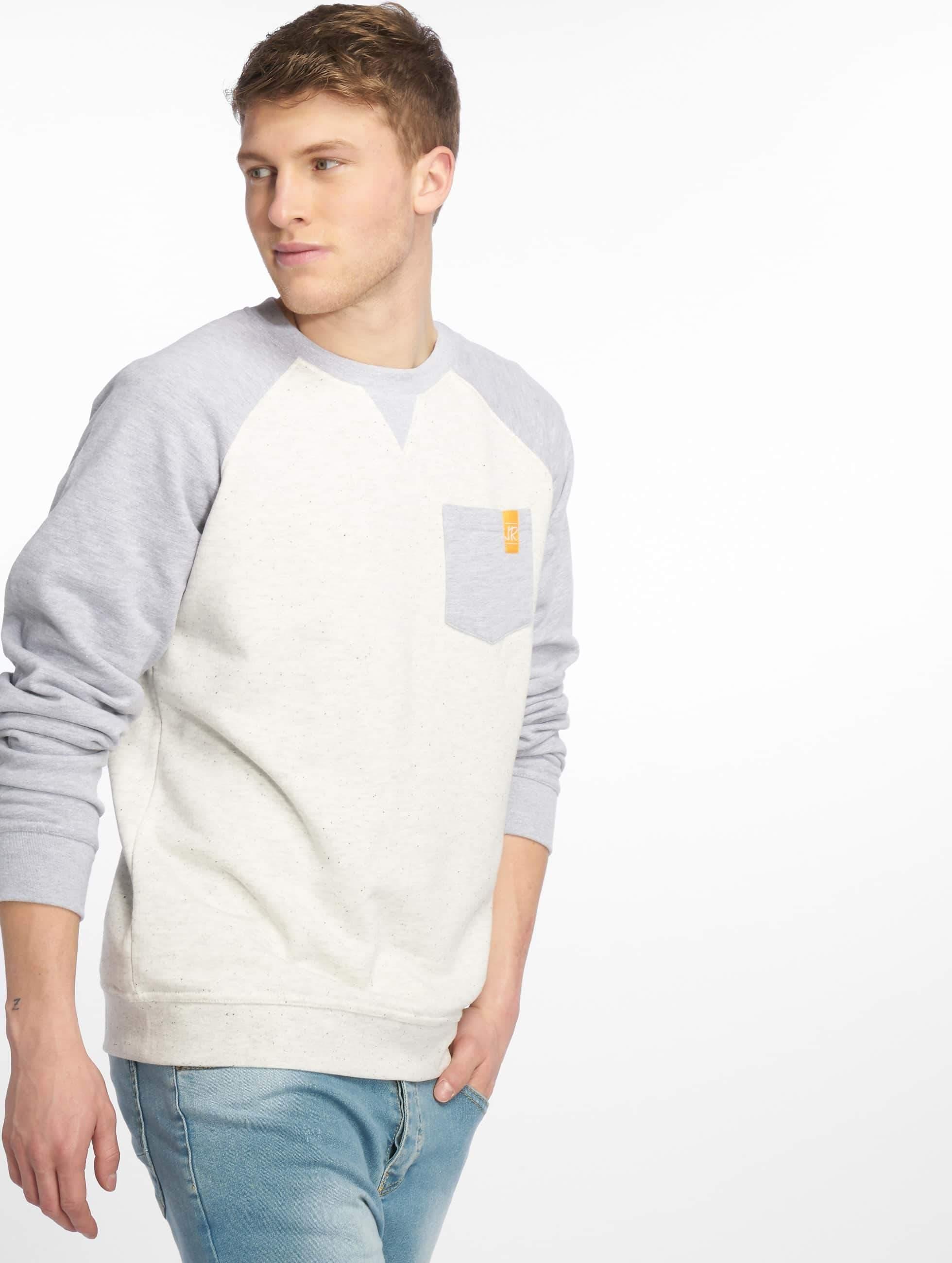 Just Rhyse / Jumper Raglan in white XL