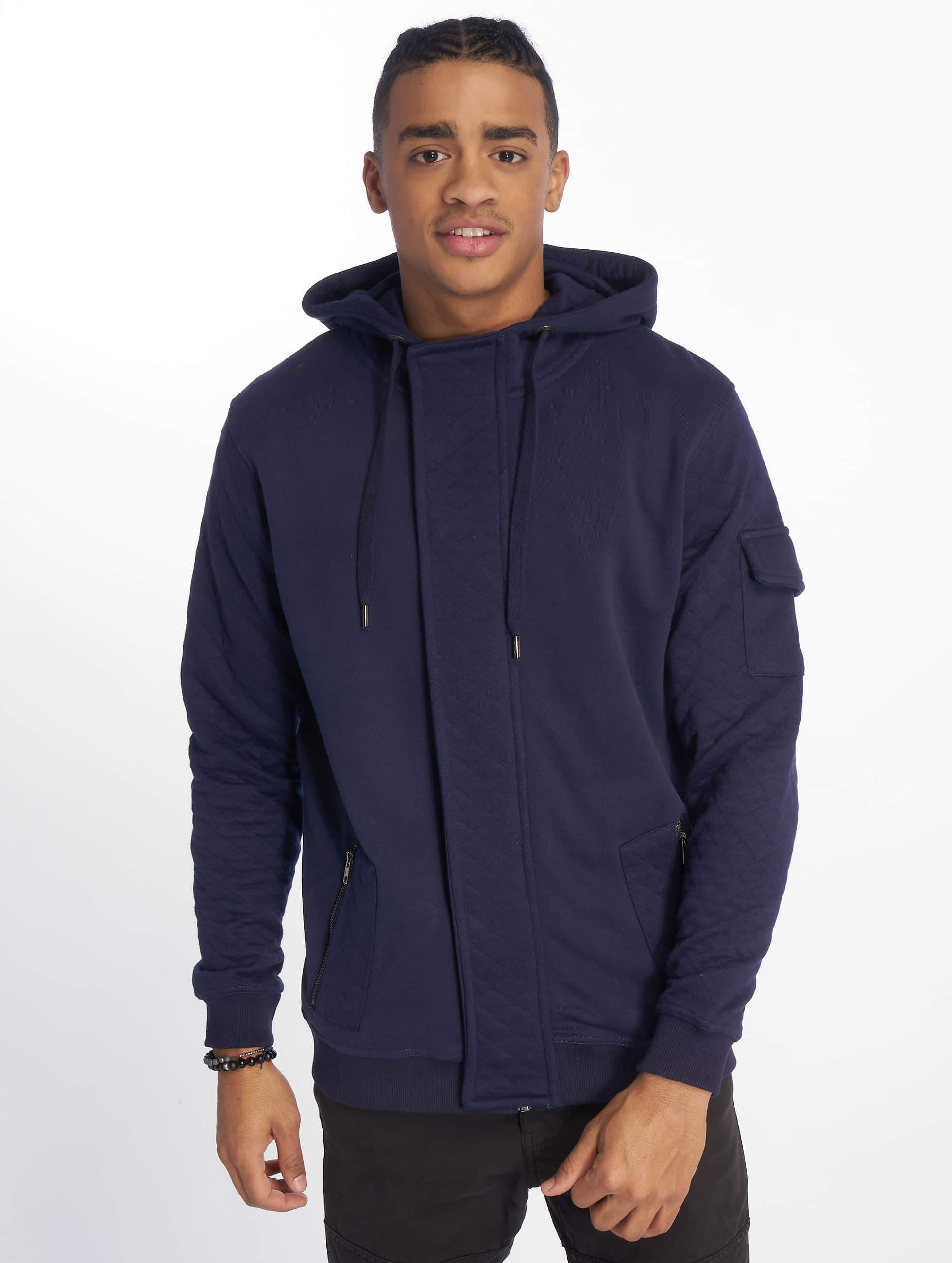 Just Rhyse / Zip Hoodie Malina Bay in blue XL