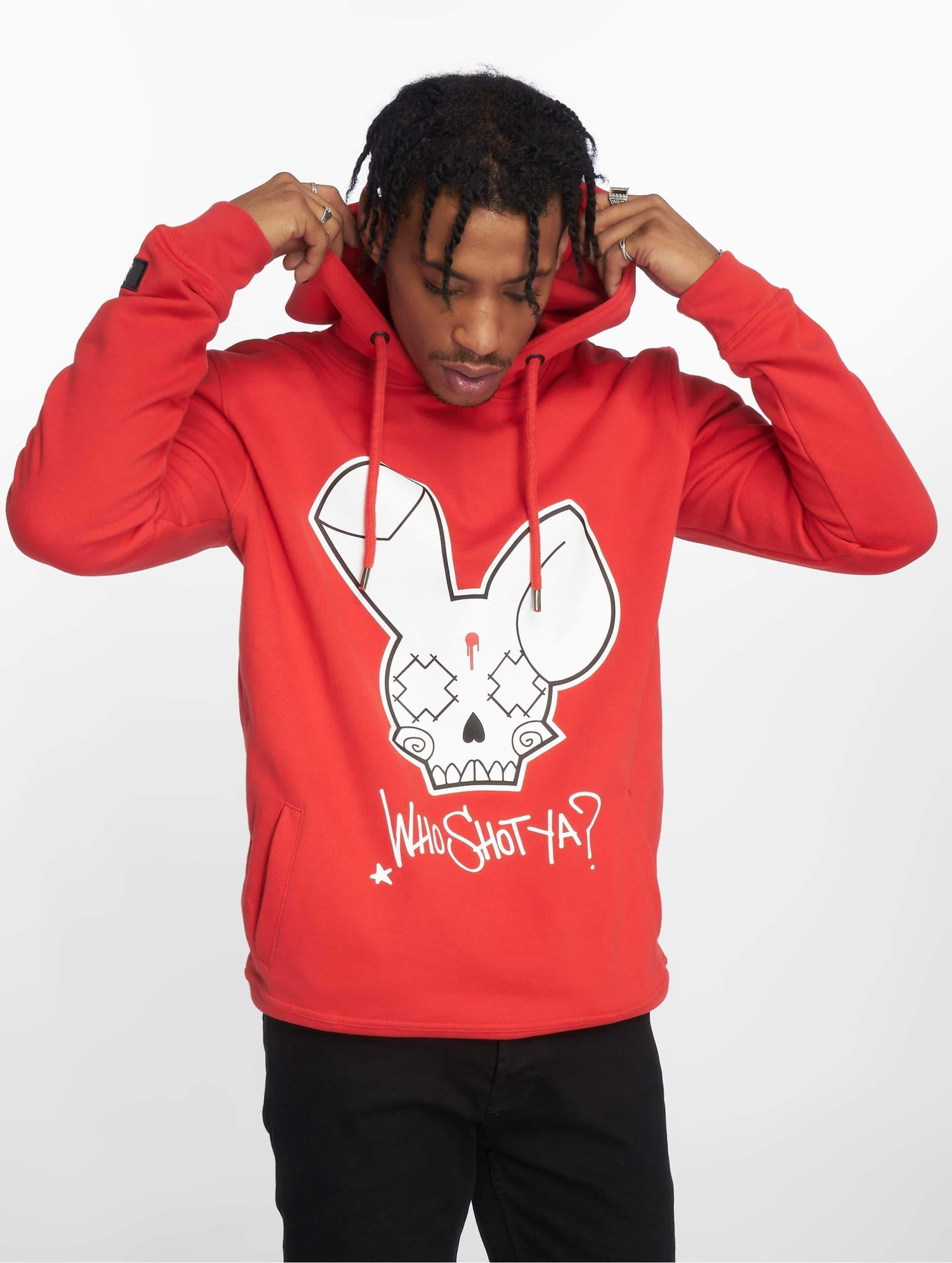 Who Shot Ya? / Hoodie Logo in red XL