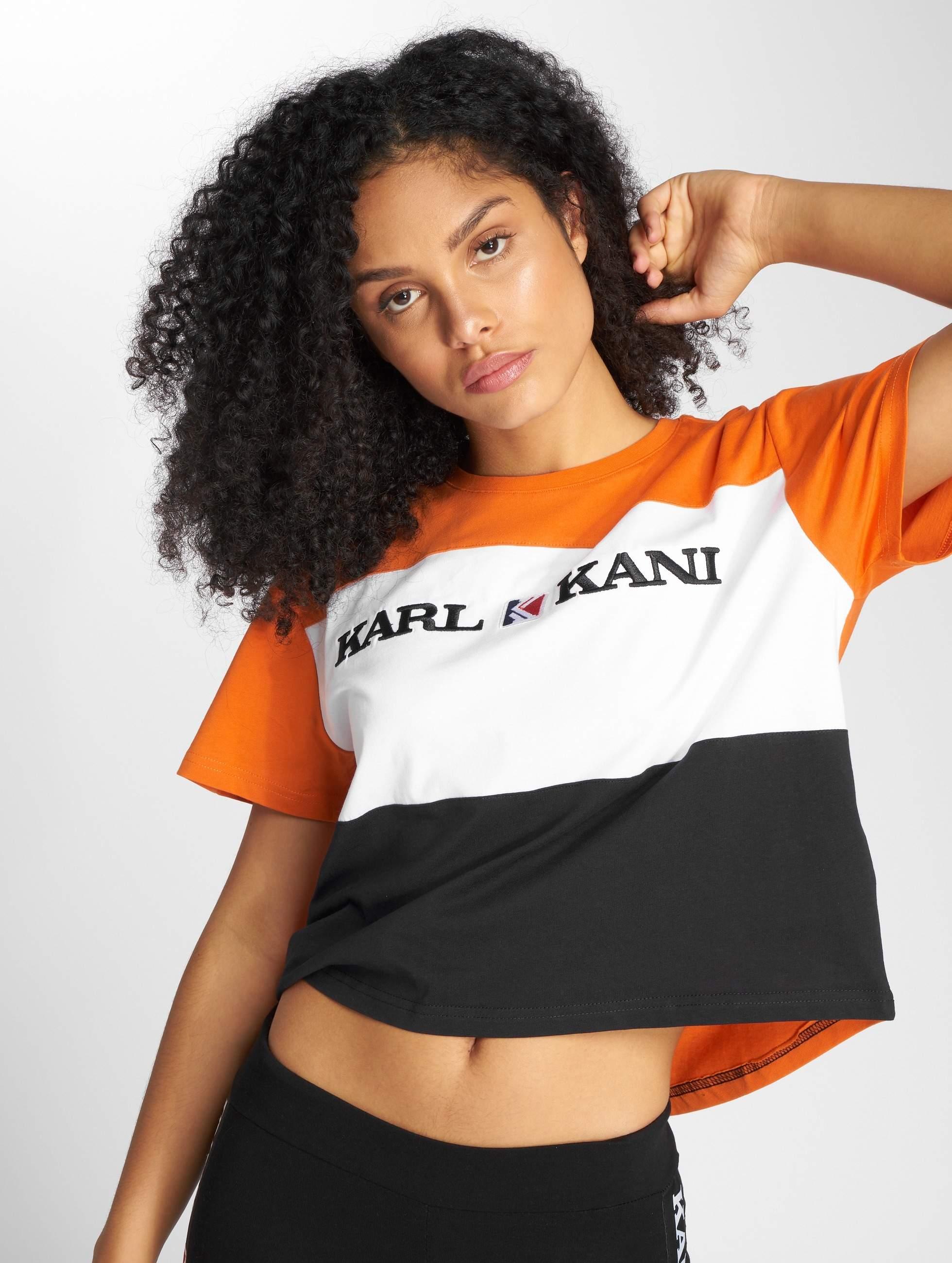 Karl Kani | Block orange Femme T-Shirt