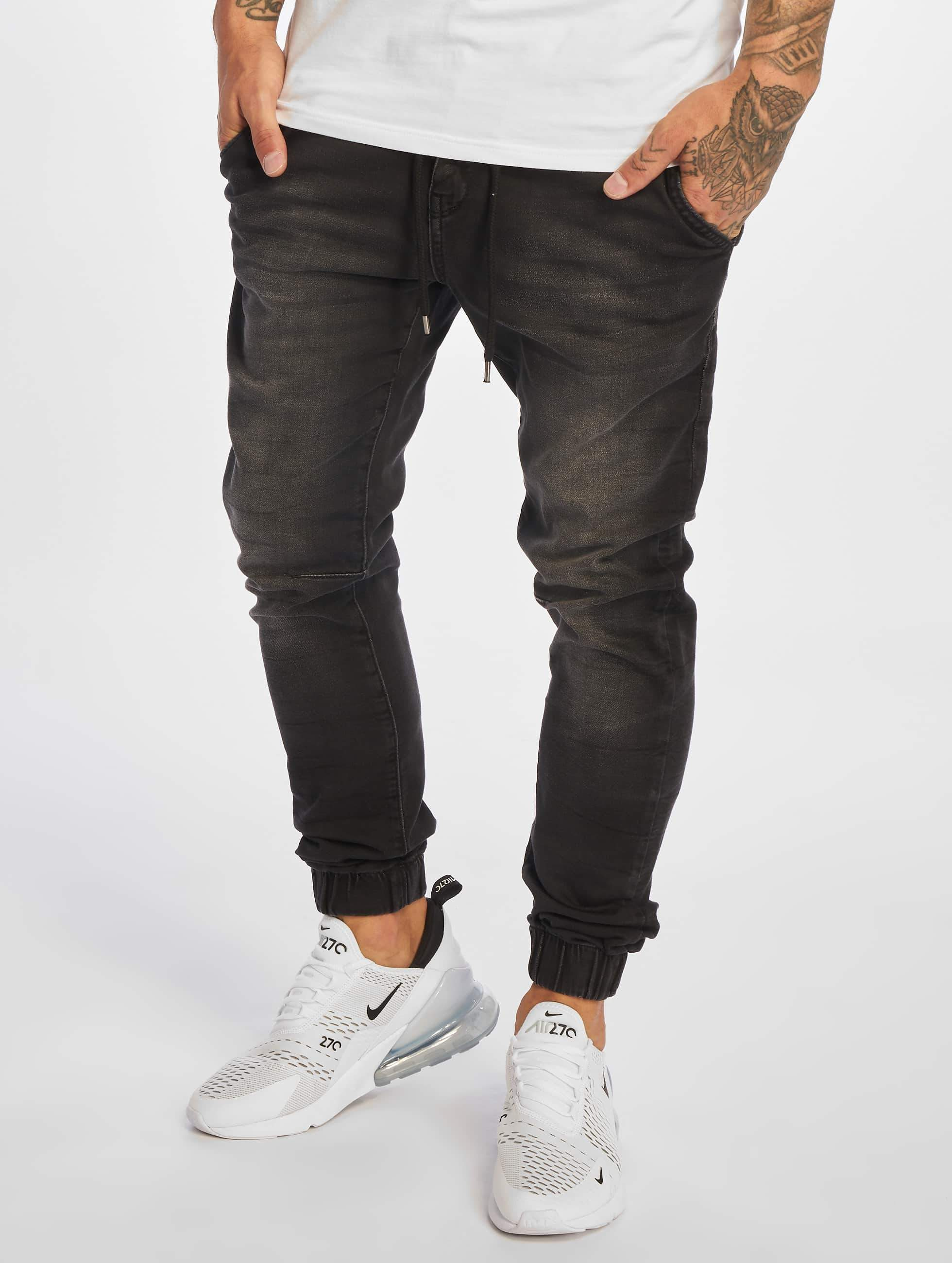 Just Rhyse / Sweat Pant San Miguel in black W 38