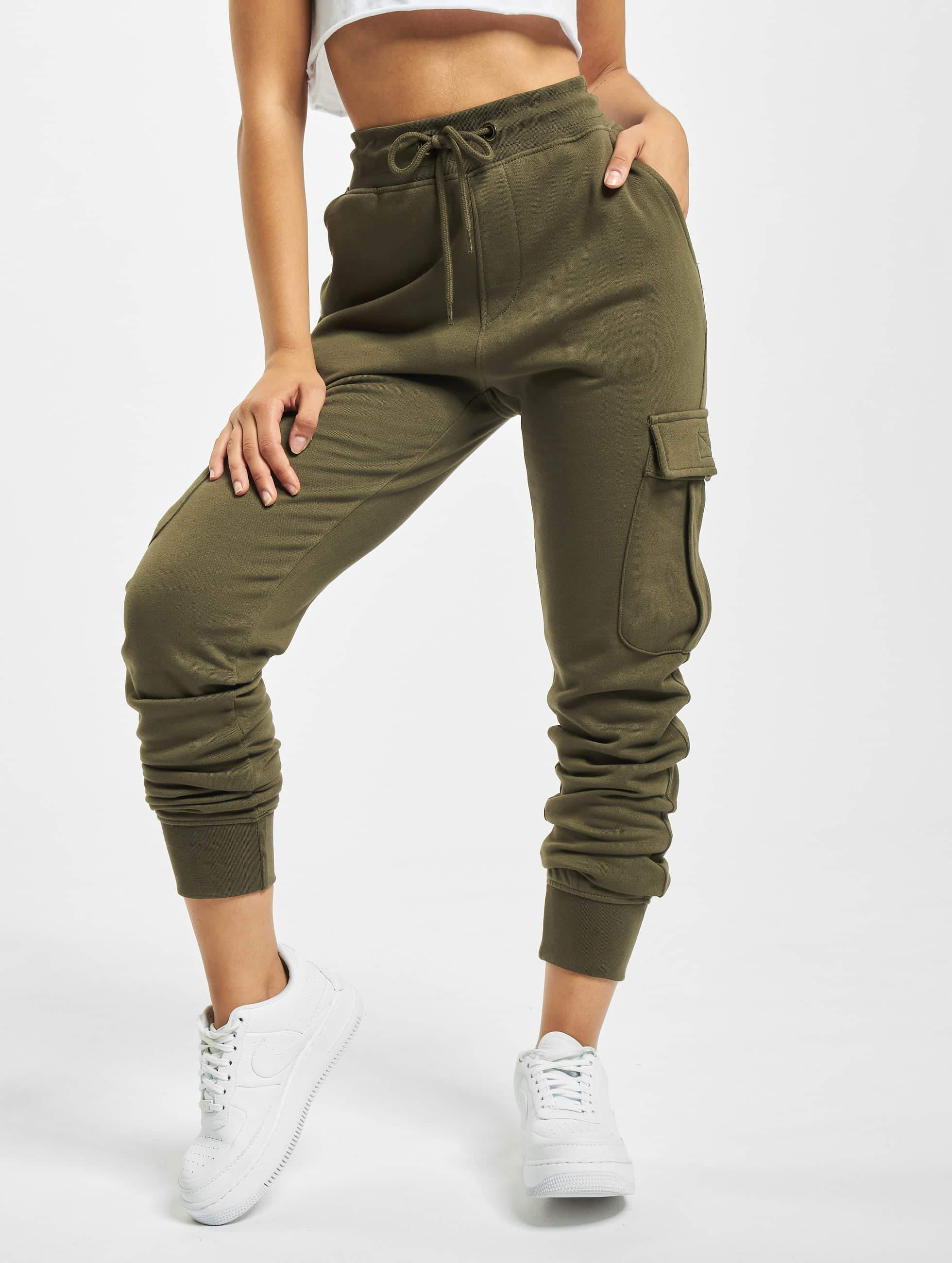 DEF / Sweat Pant Greta in olive L