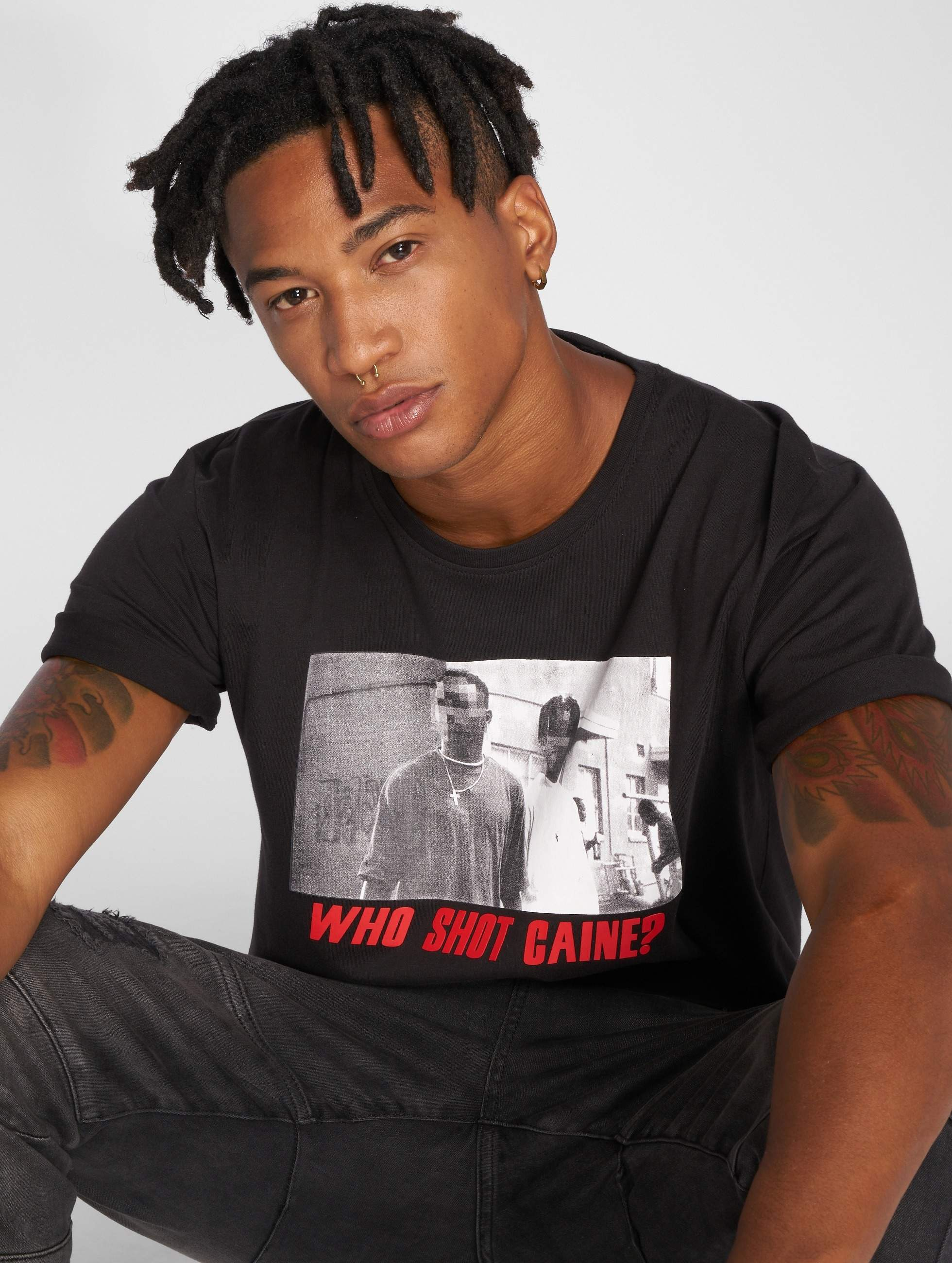 Who Shot Ya? / T-Shirt Who shot Caine in black 3XL