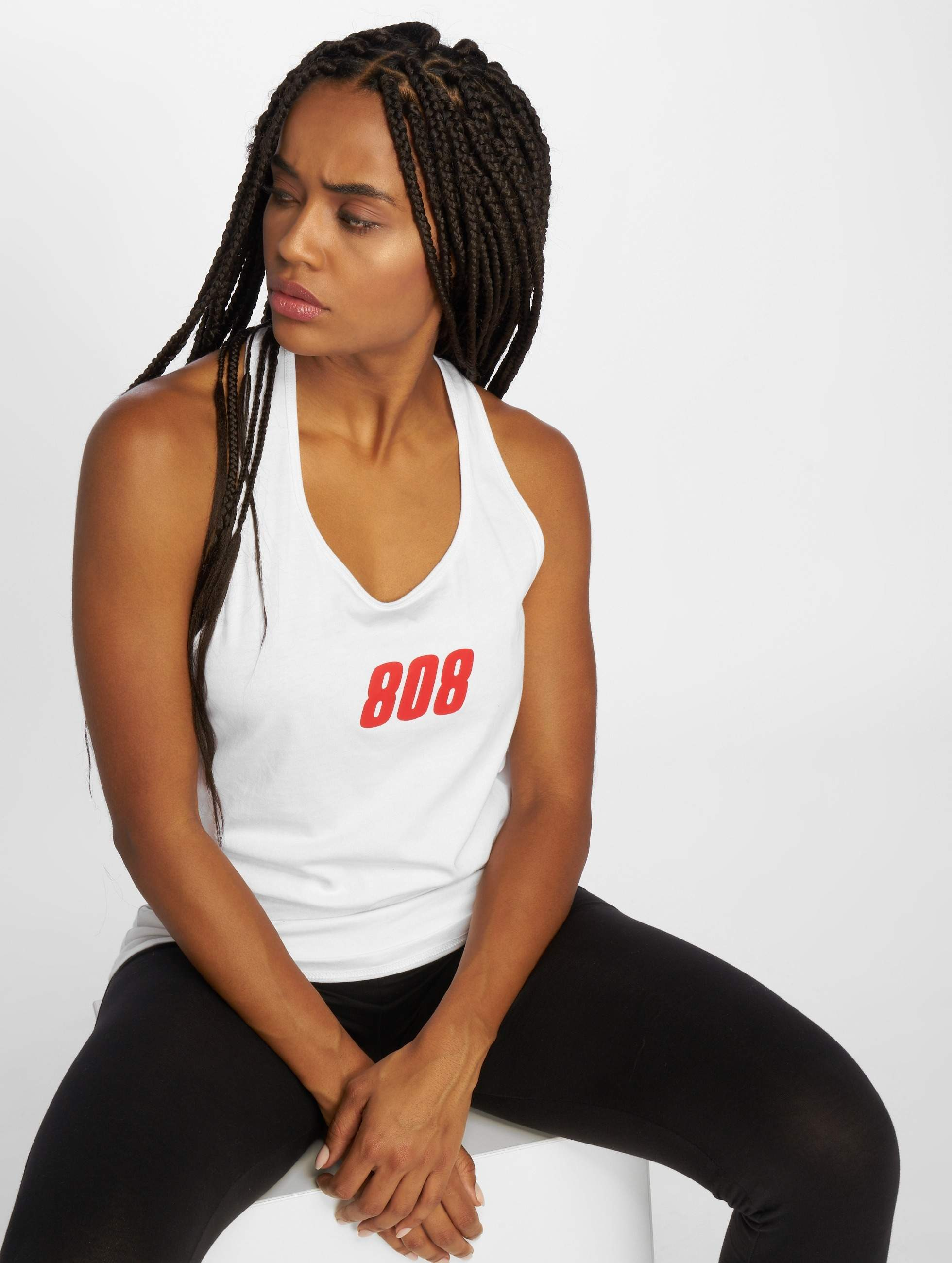 Who Shot Ya? / Tank Tops 808 in white XL