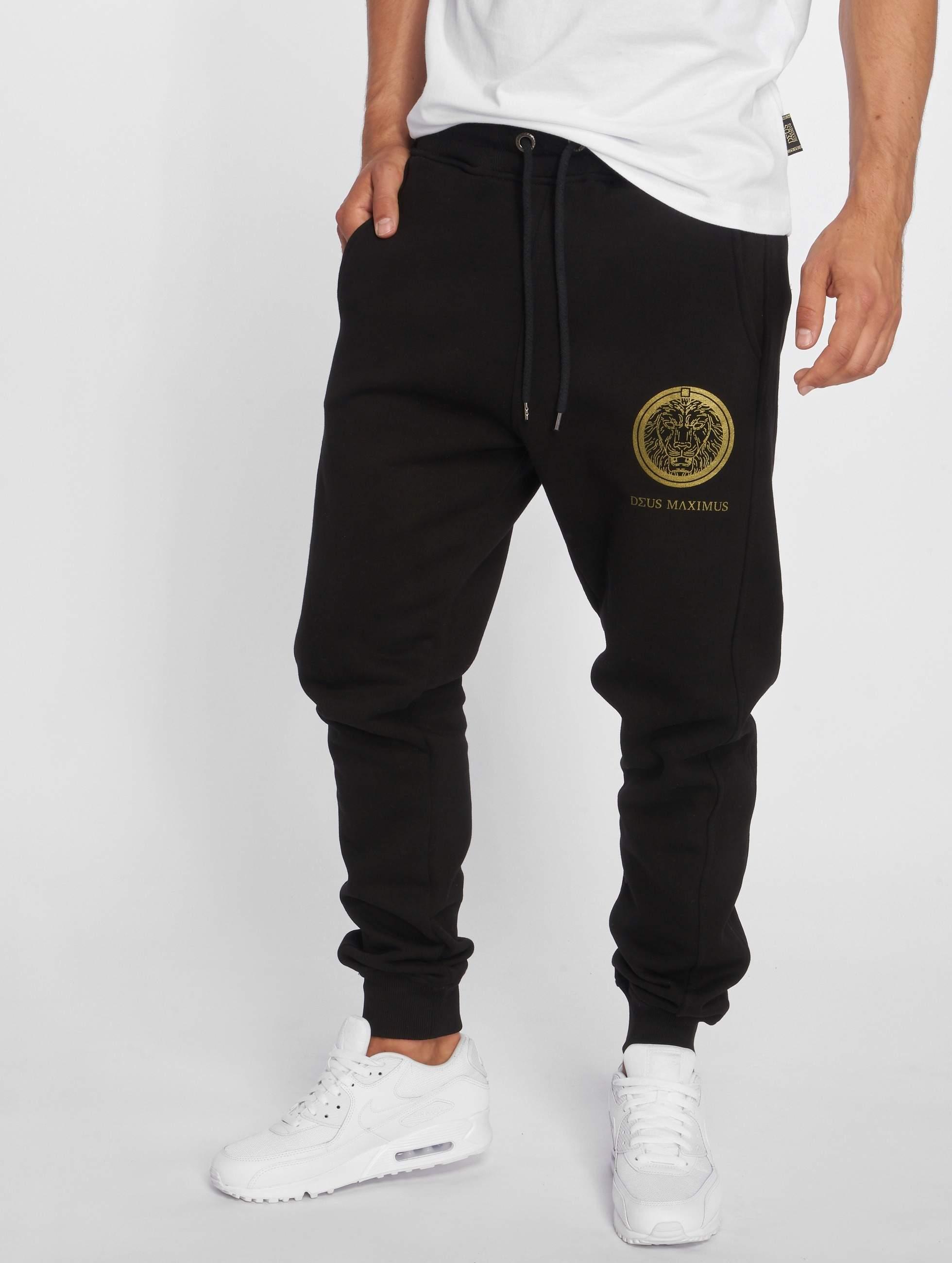 Deus Maximus / Sweat Pant NEMEAEUS in black 3XL