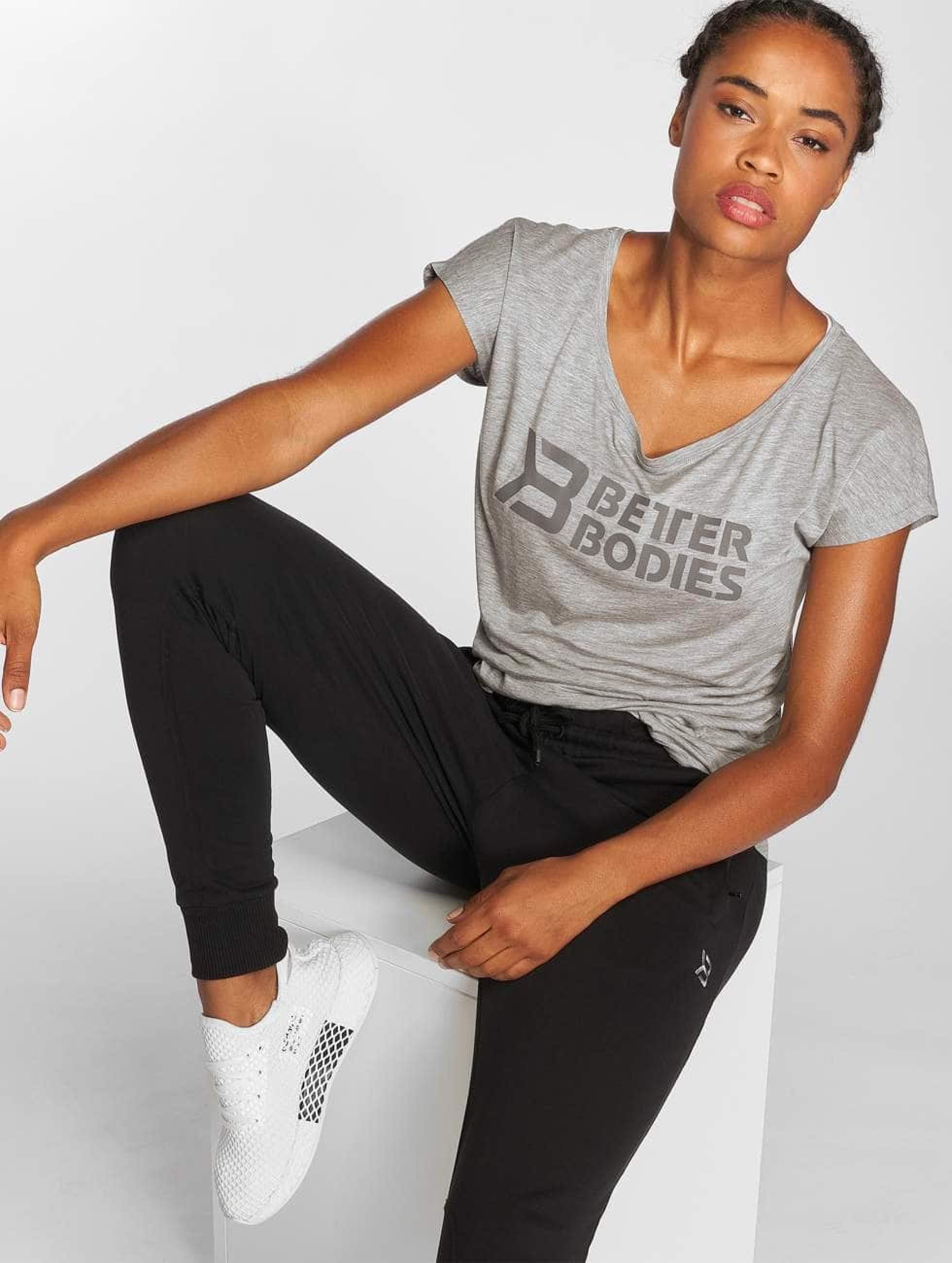 Better Bodies | Gracie gris Femme T-Shirt