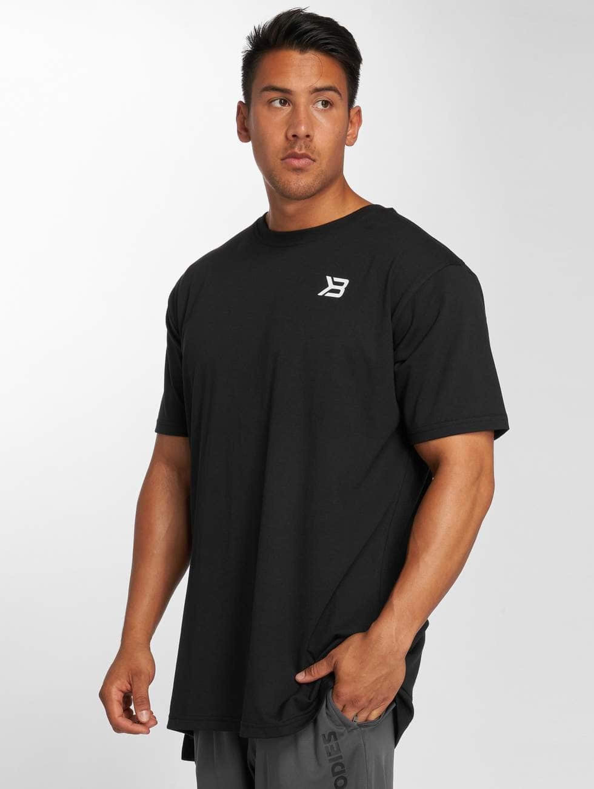 Better Bodies | Harlem Oversize noir Homme T-Shirt
