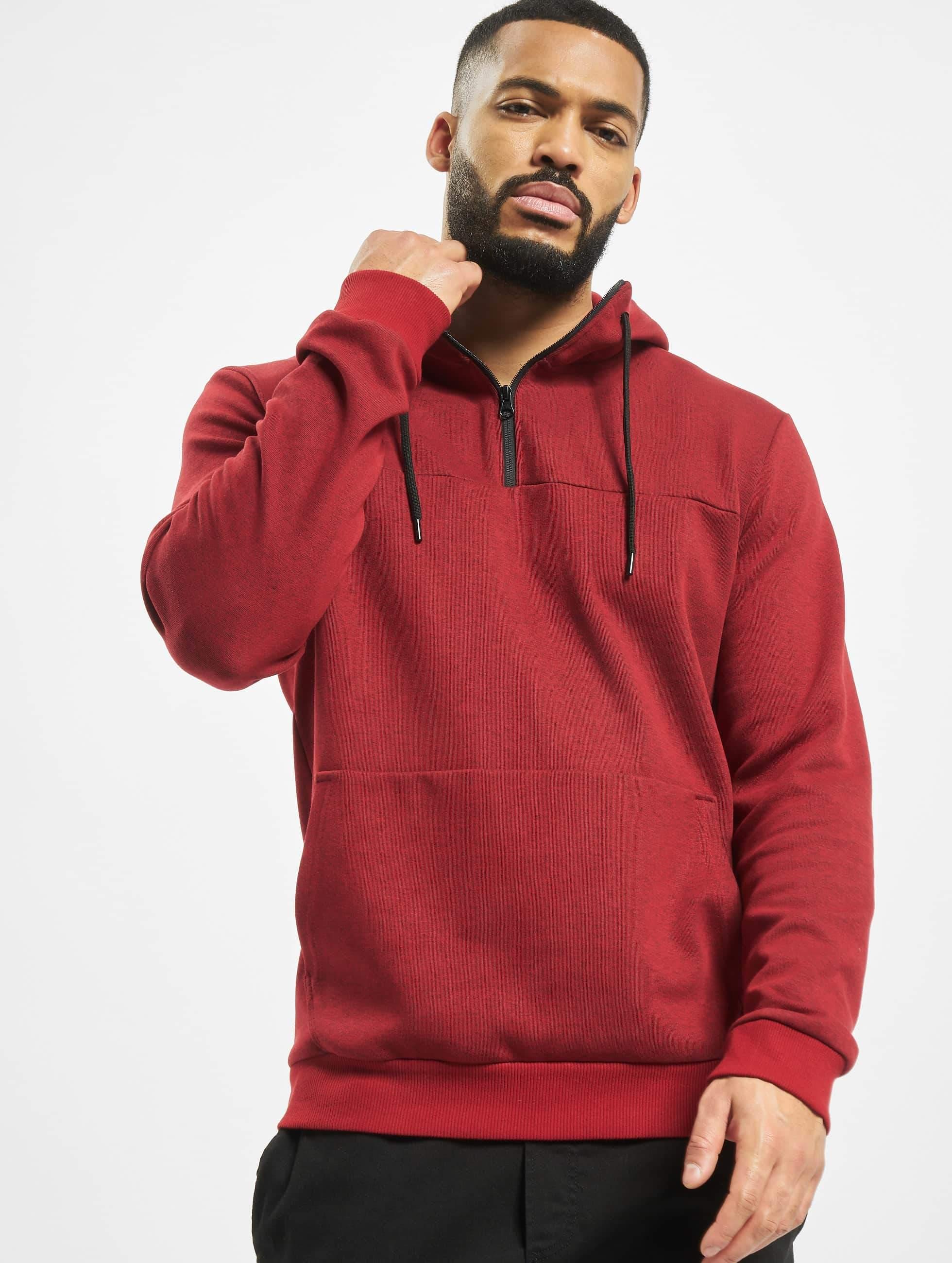 DEF / Hoodie Espe in red XL