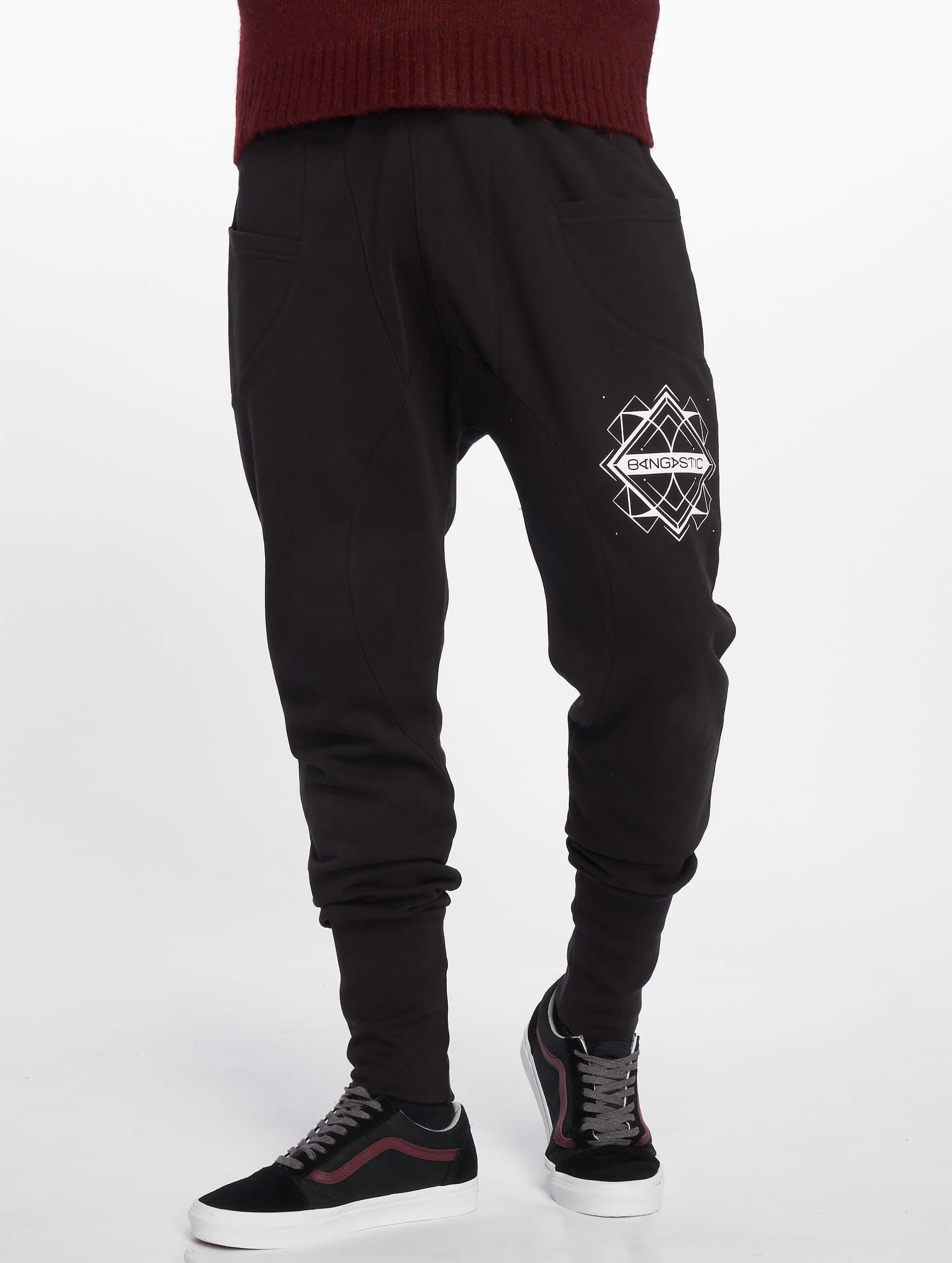 Bangastic / Sweat Pant Birds in black XL