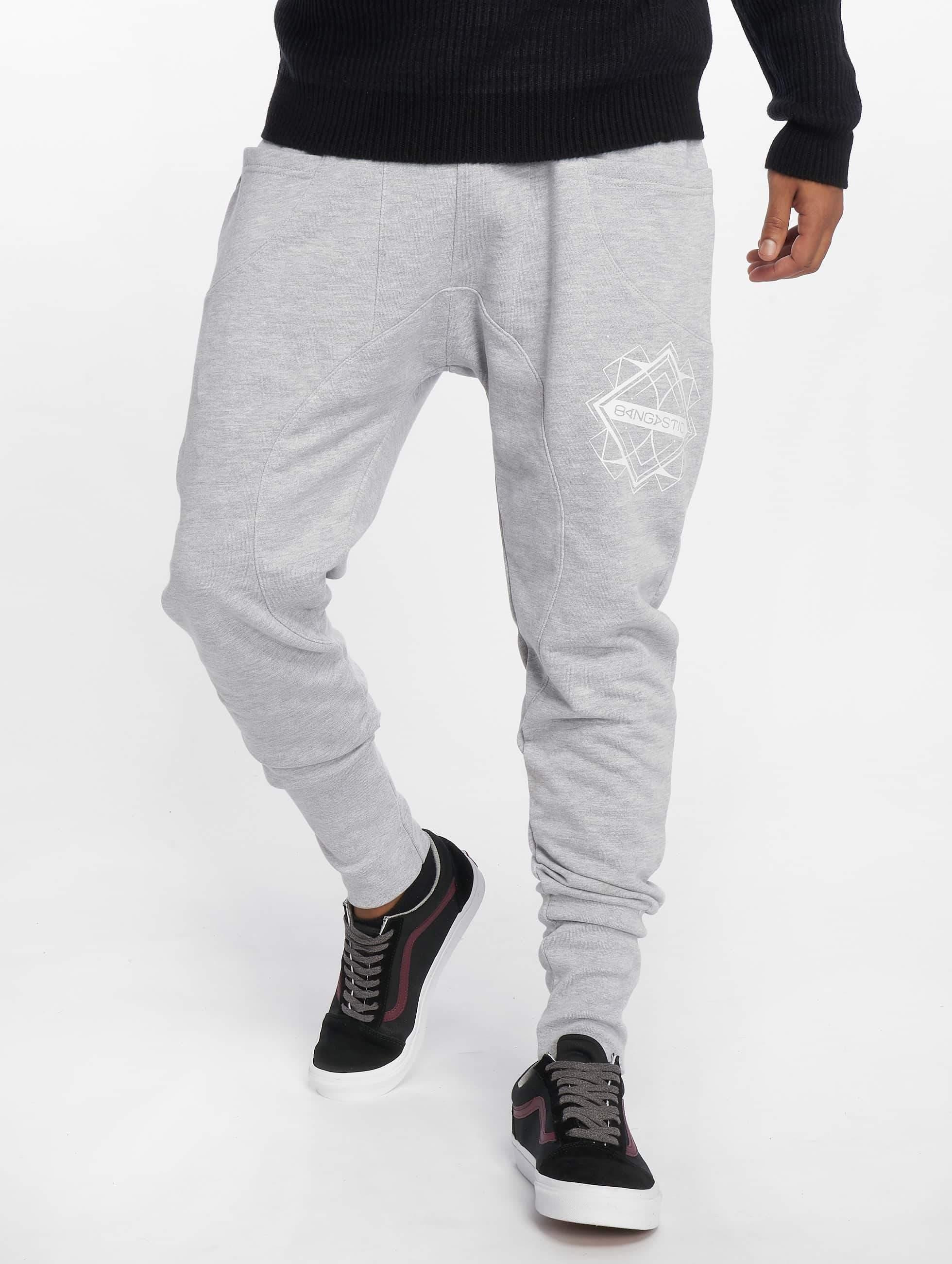 Bangastic / Sweat Pant Birds in grey M