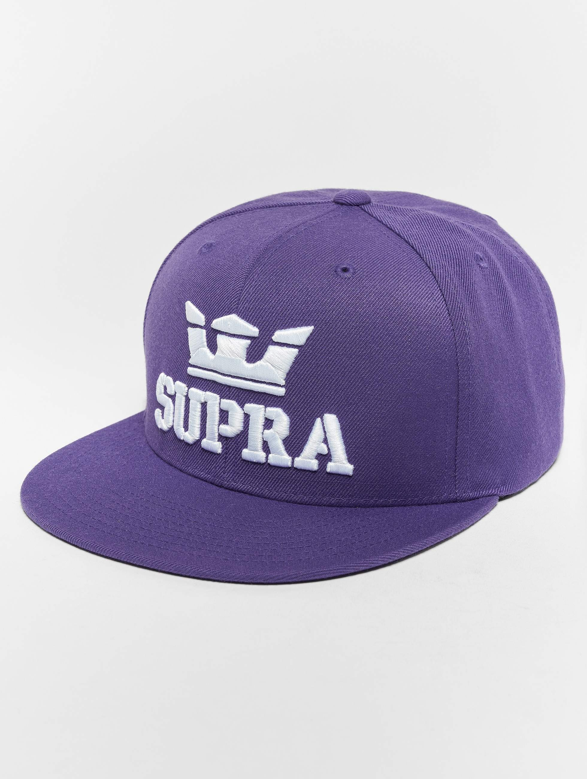 Supra   Above pourpre Homme Casquette Snapback & Strapback