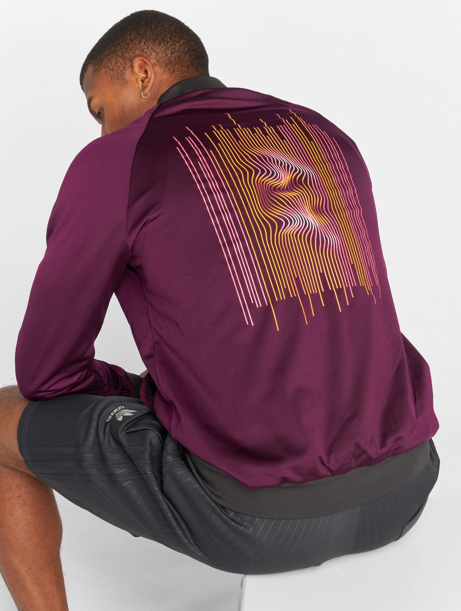 adidas originals Männer Übergangsjacke Reversible in grau