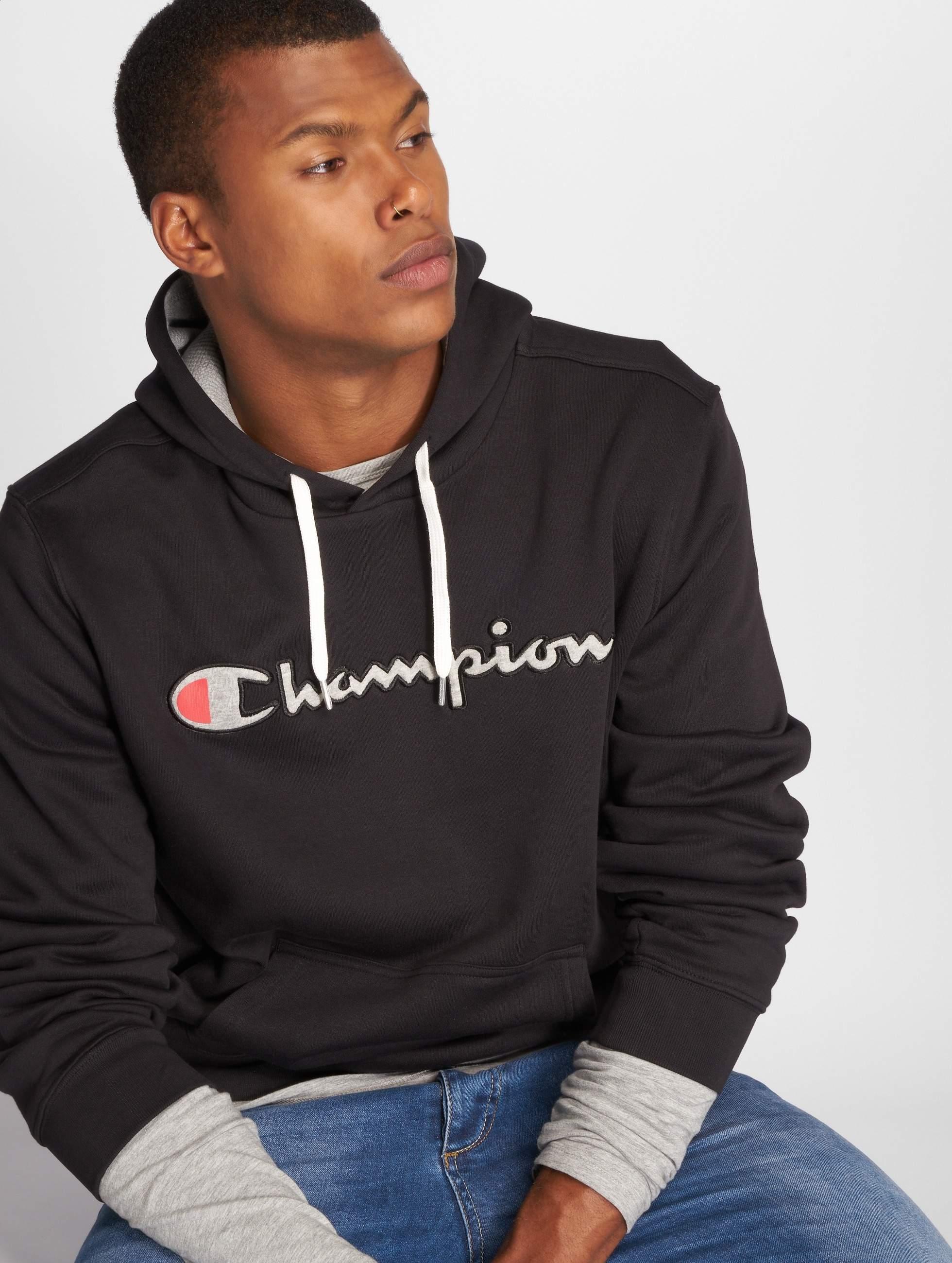 Champion Athletics Männer Hoody American in schwarz