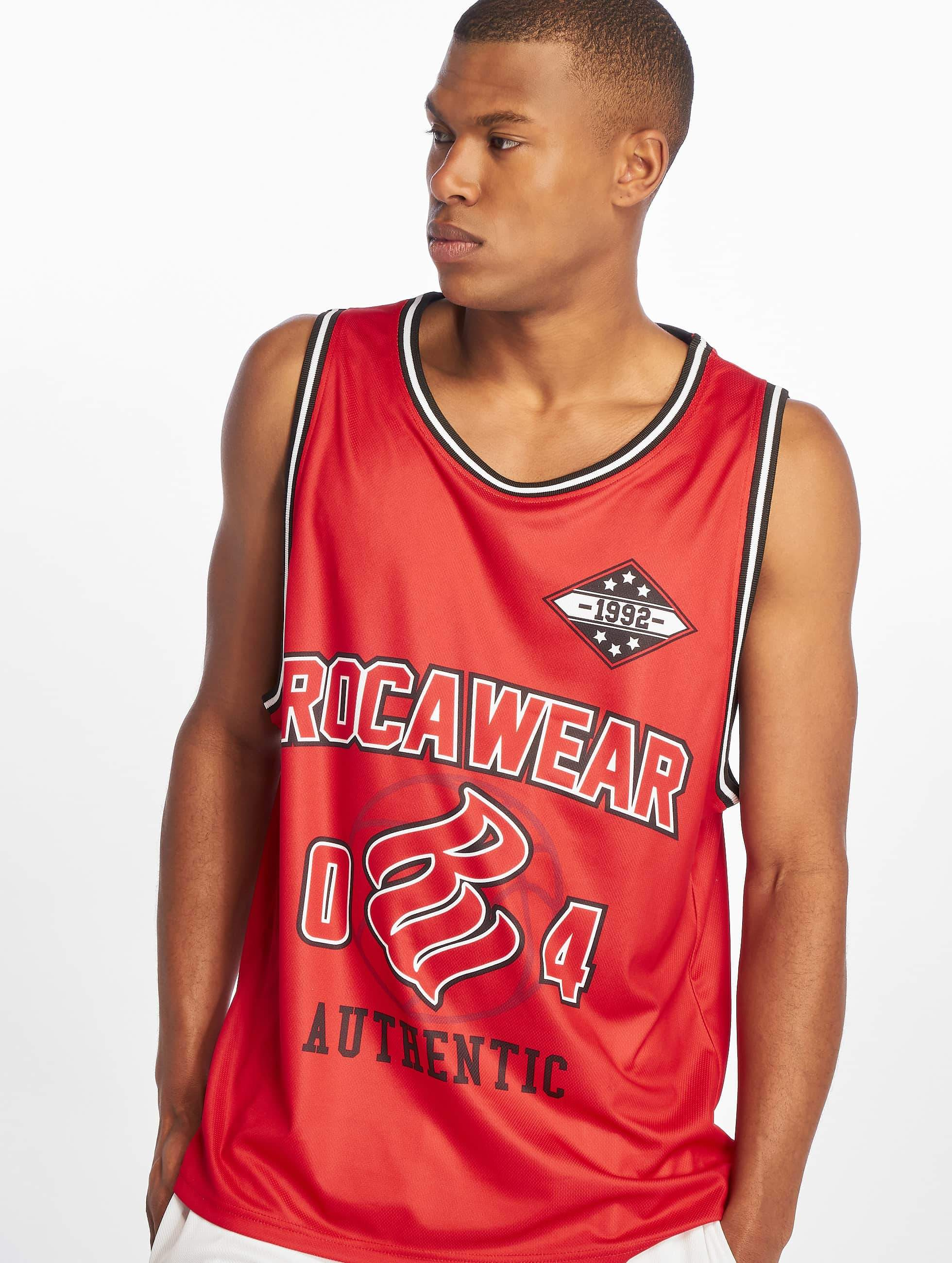 Rocawear Männer Tank Tops Authentic in rot