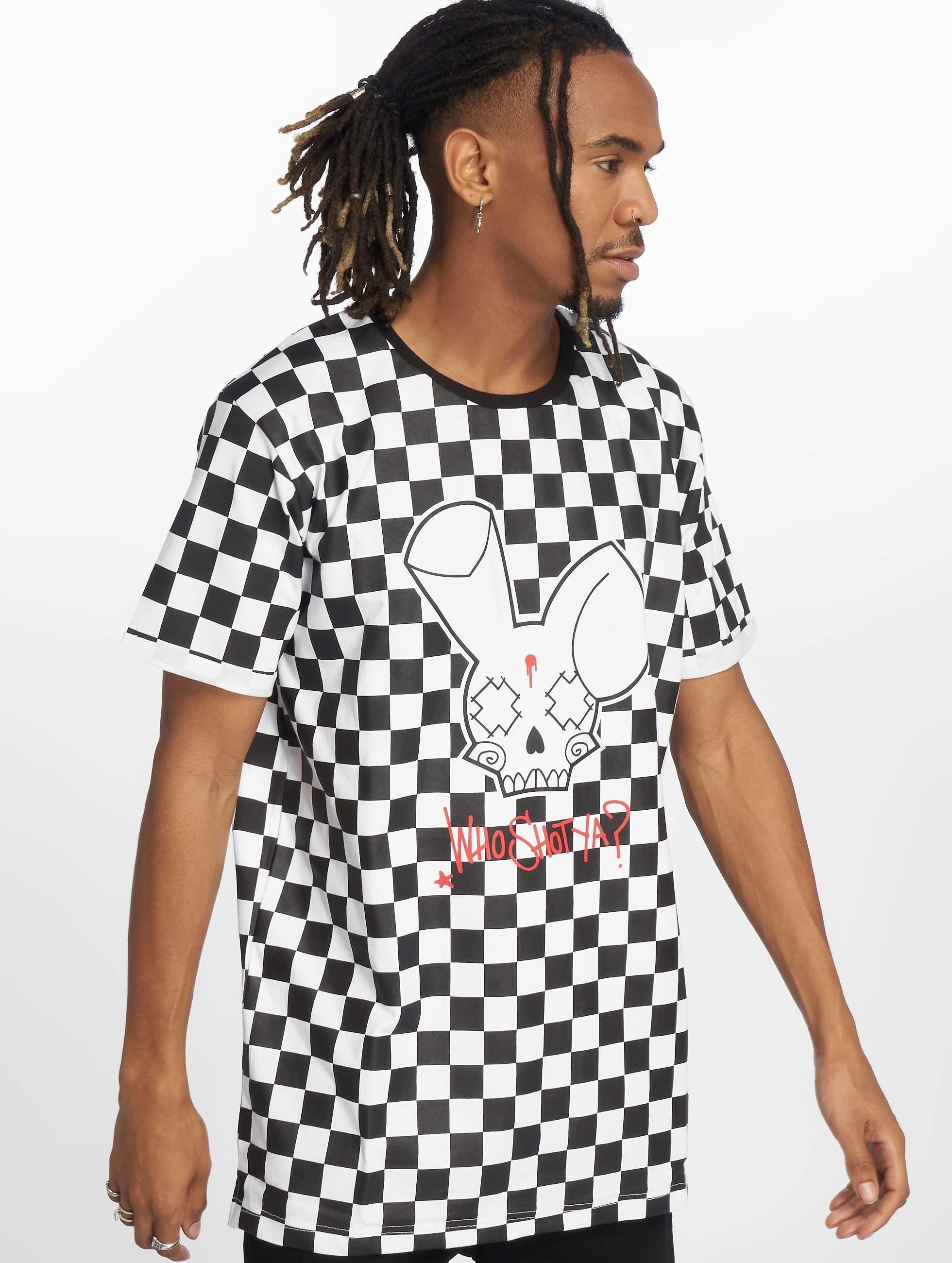 Who Shot Ya? / T-Shirt Checkboard in black XL