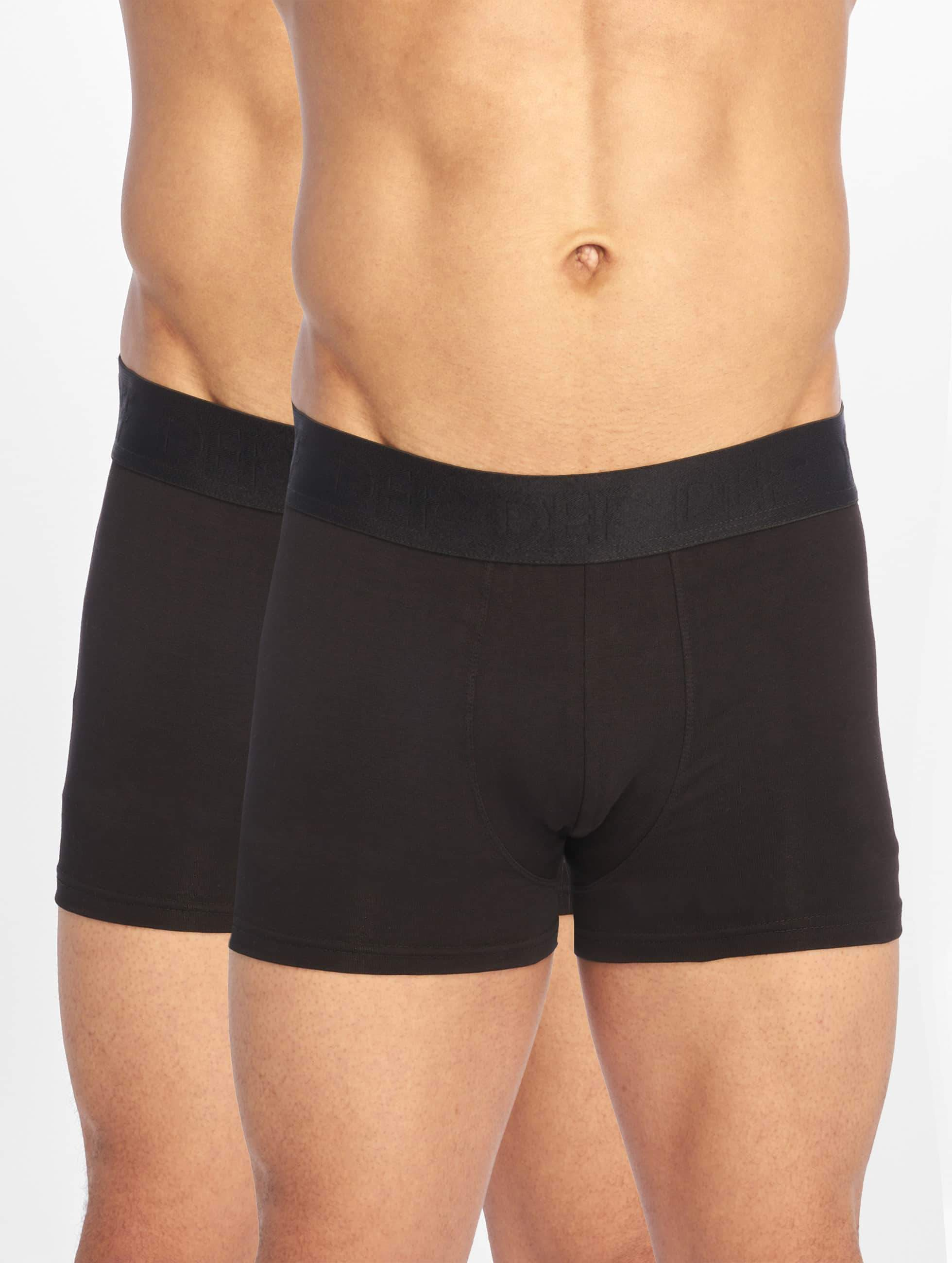 DEF / Boxer Short Double Pack in black S