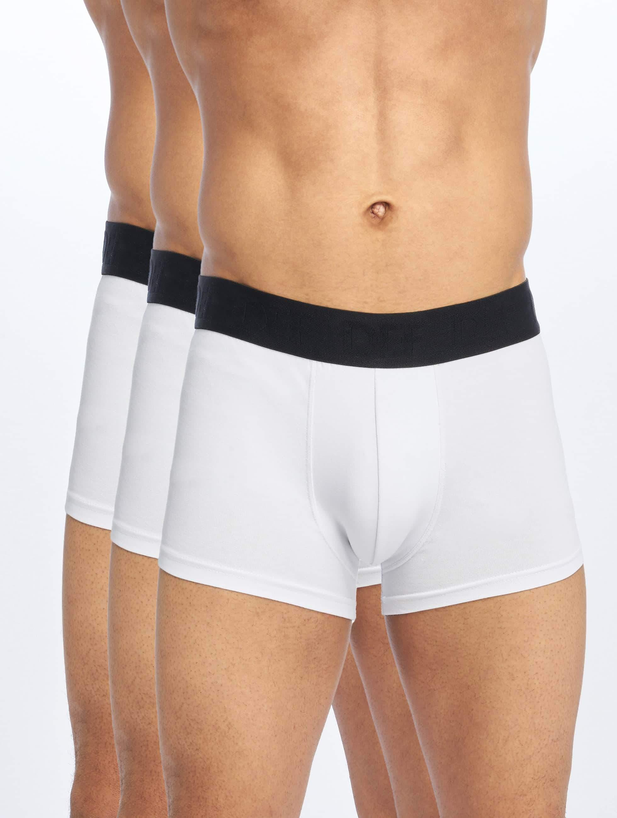 DEF / Boxer Short 3er Pack in white 2XL