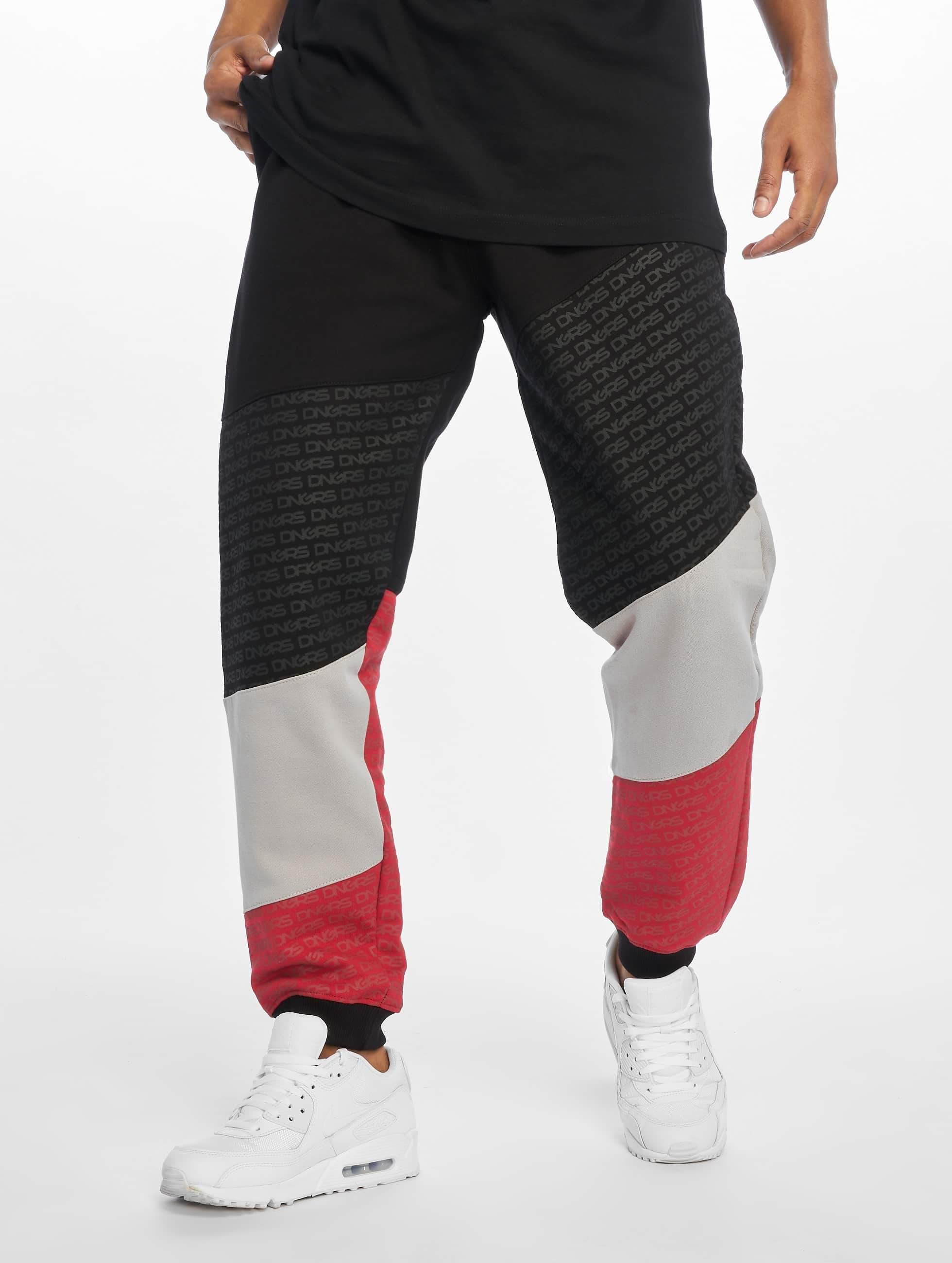 Dangerous DNGRS / Sweat Pant Tower in black XL