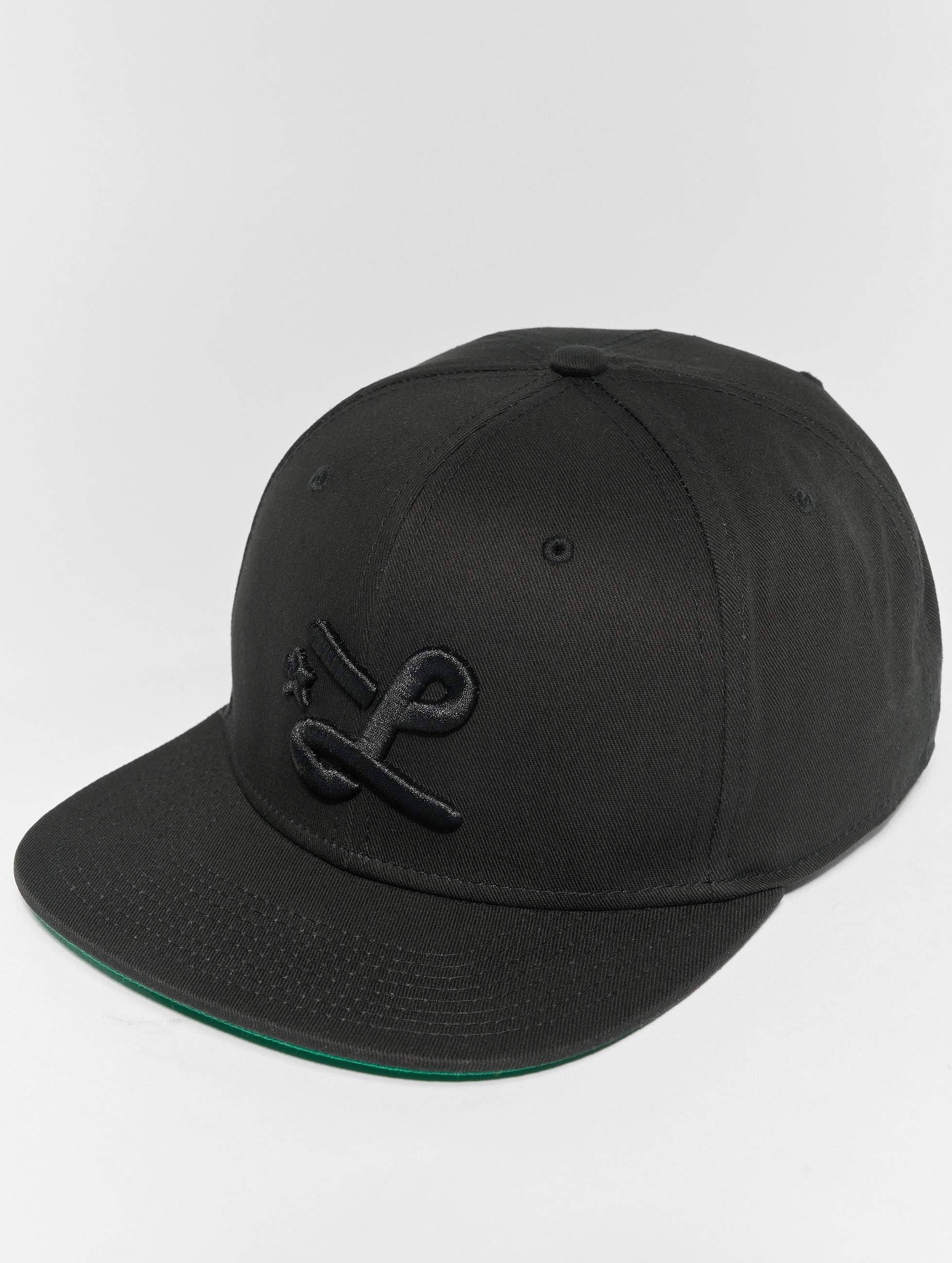 LRG | Down With The L noir Homme Casquette Snapback & Strapback